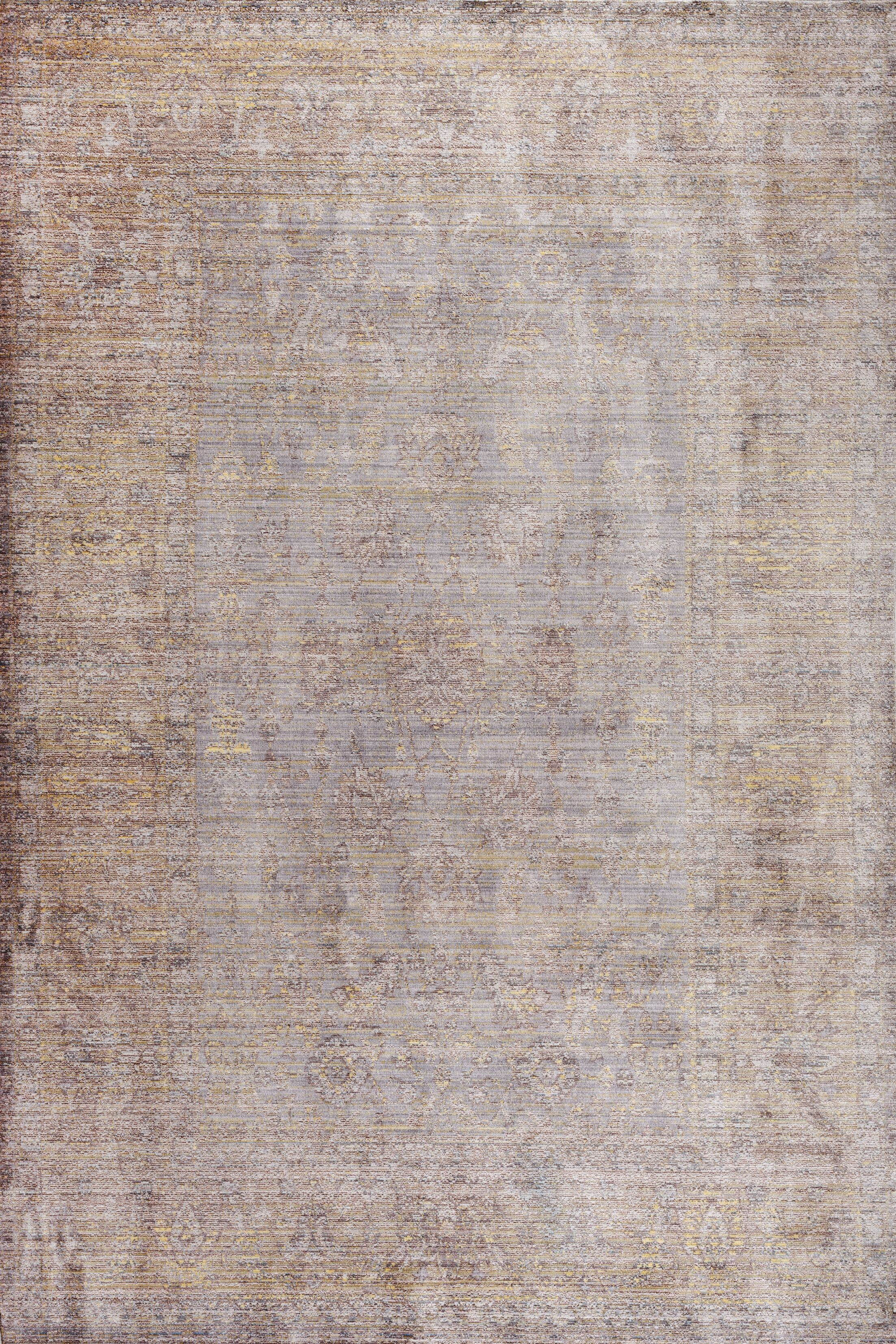 Deeringhill Gray Area Rug Rug Size: Rectangle 4' x 6'