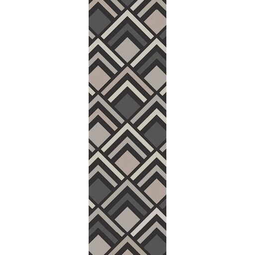 Harvey Hand-Tufted Charcoal/ Gray Area Rug Rug Size: Runner 2'6