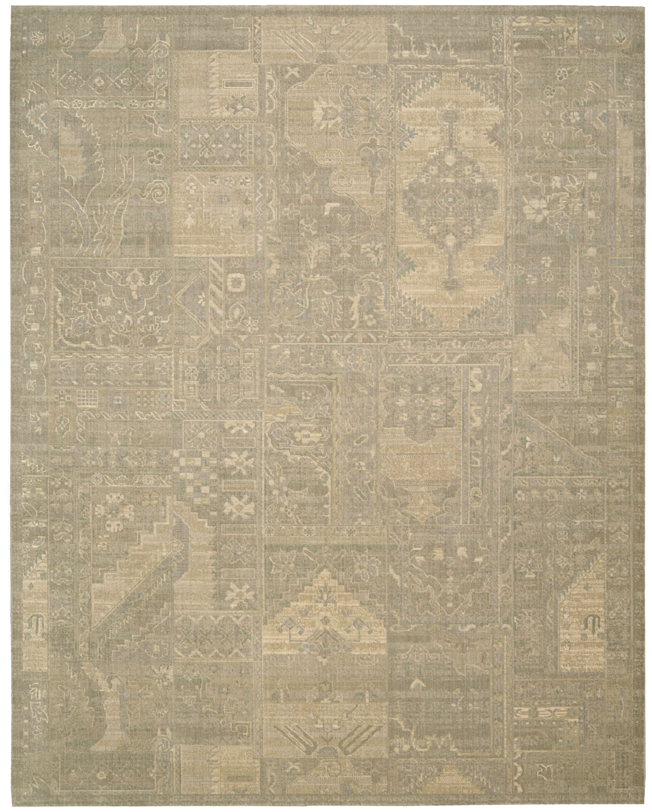 Ardale Wool Gray Area Rug Rug Size: Rectangle 5'6
