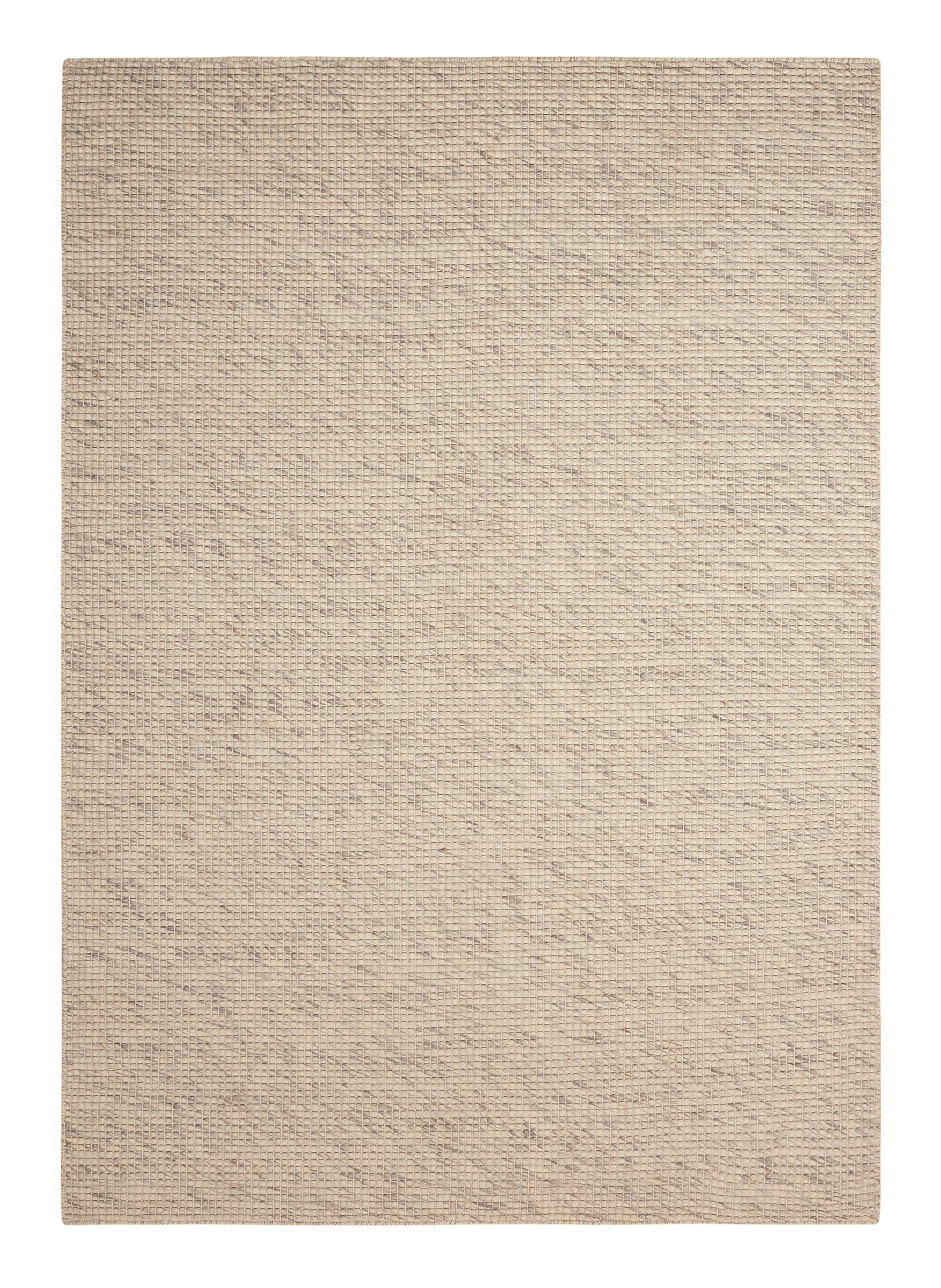 Viviana Hand-Woven Beige Area Rug Rug Size: 4' x 6'