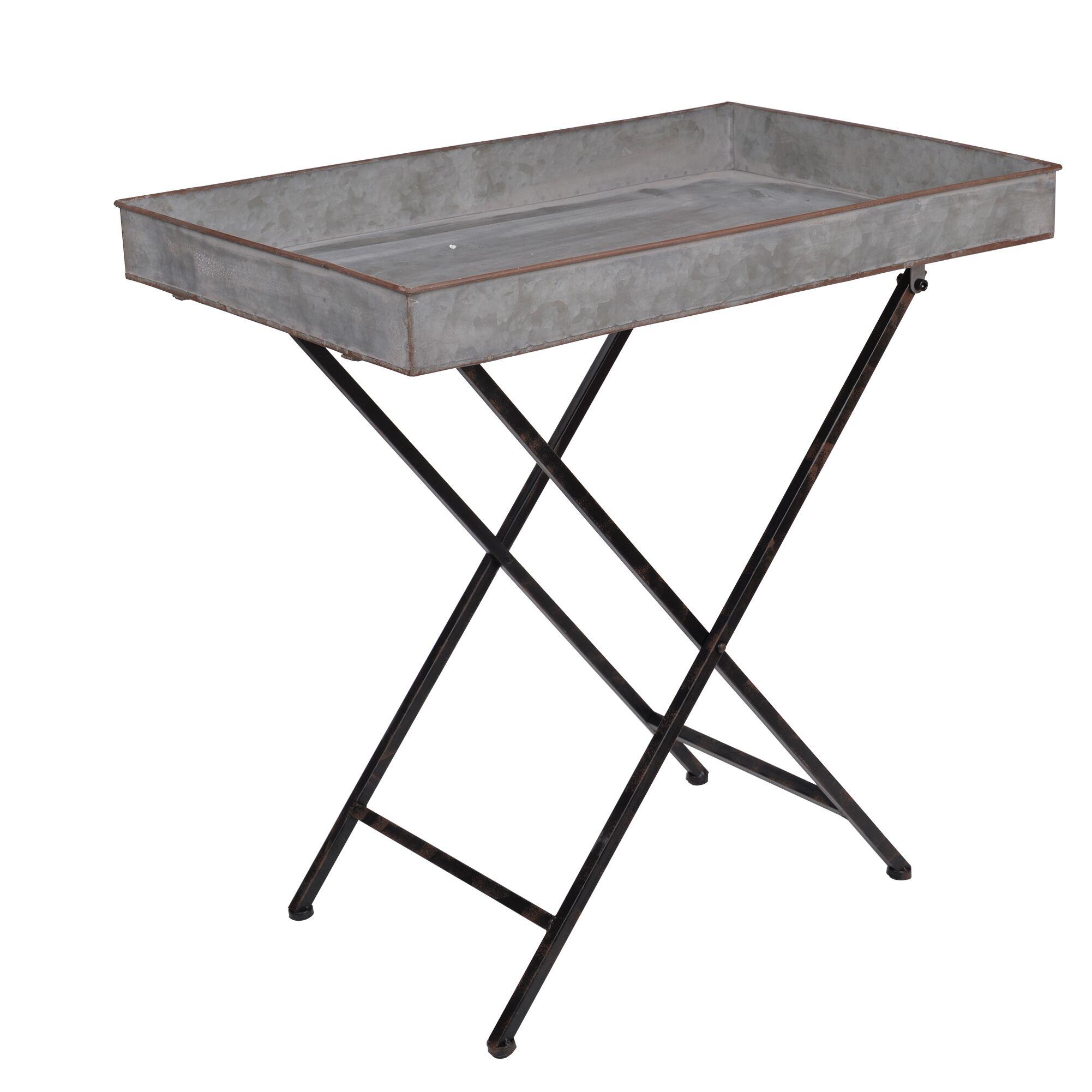 Nashua Metal End Table