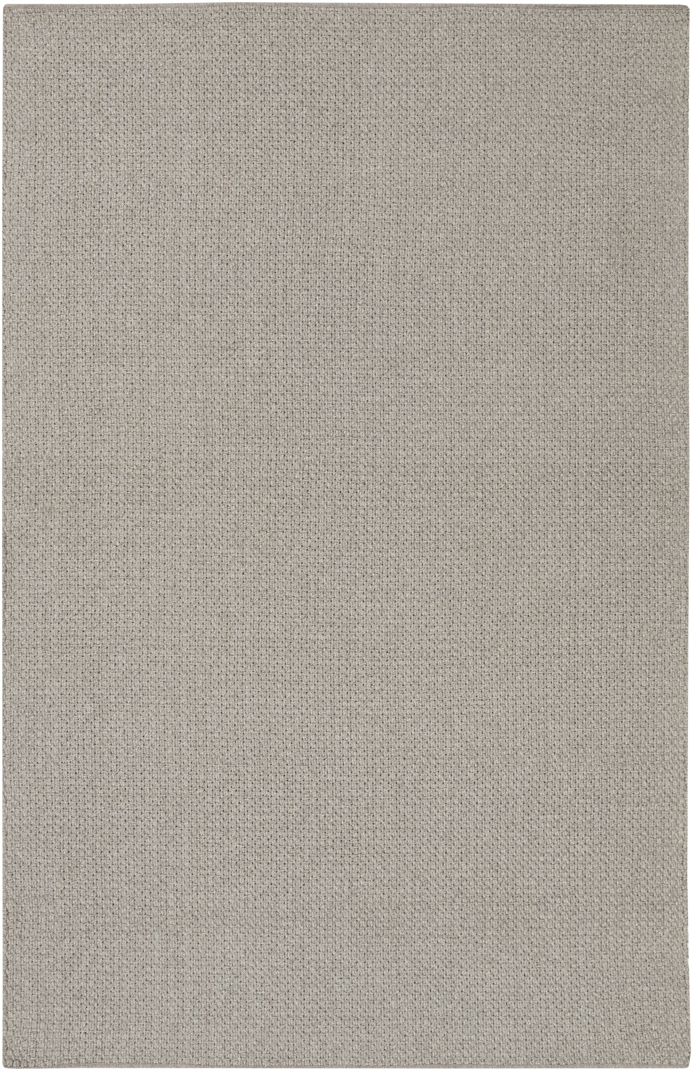 Tabeguache Hand-Woven Gray Indoor/Outdoor Area Rug Rug Size: Rectangle 5'3