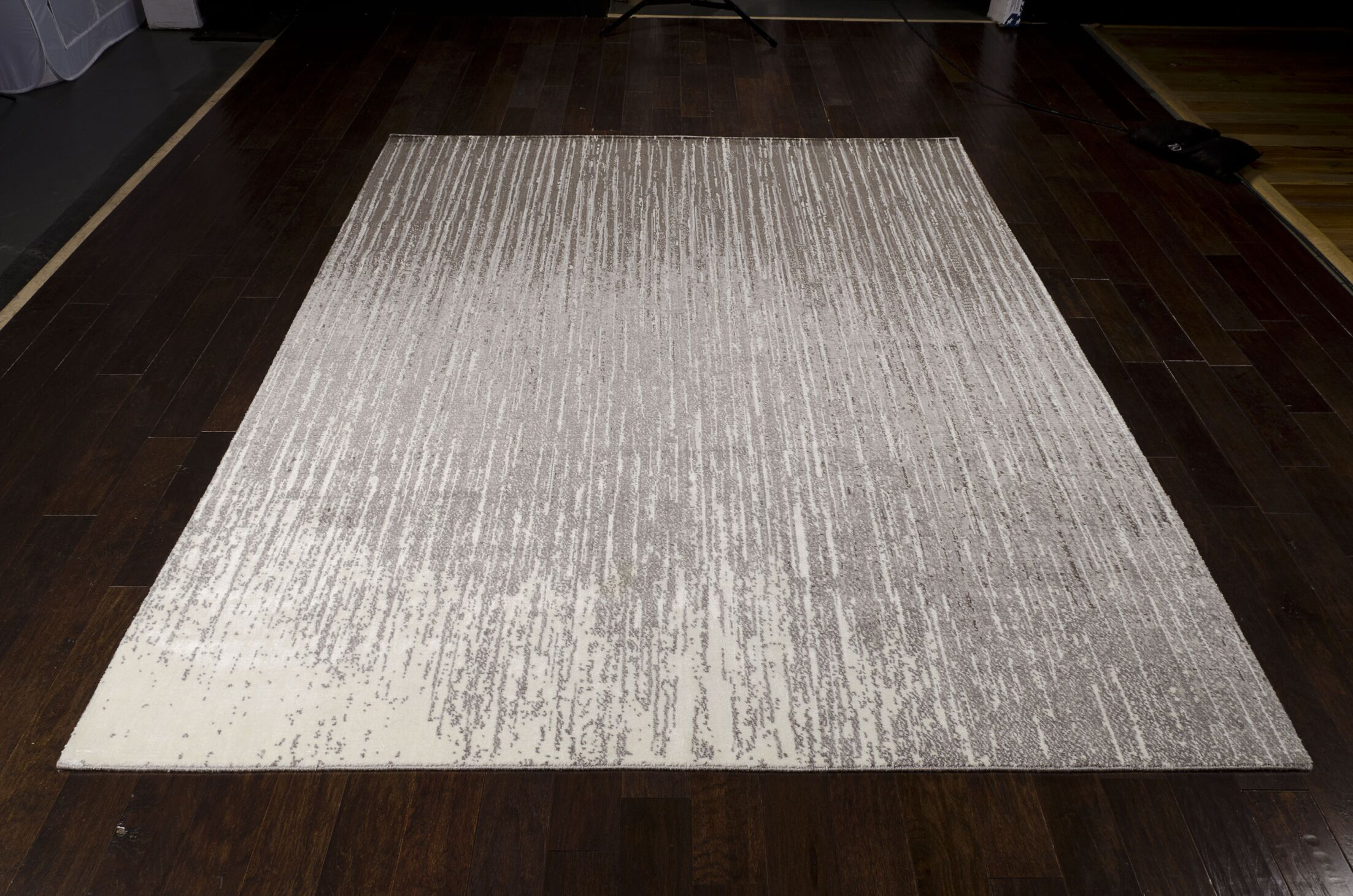 Stanton Abstract Gray Area Rug Rug Size: Rectangle 9'9