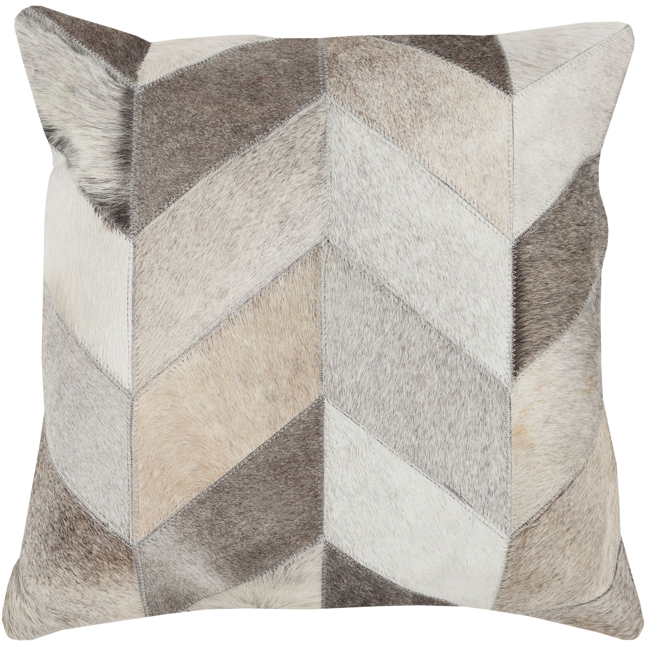 Segula Faux Fur Pillow Cover Size: 20