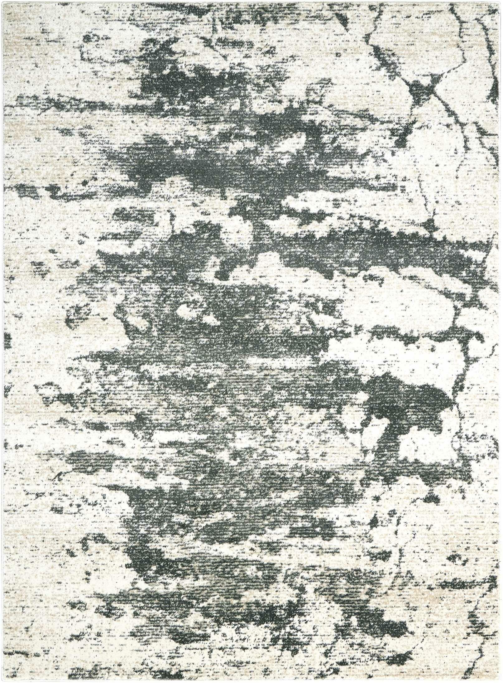 Mana Ivory Gray Area Rug Rug Size: Rectangle 3'10