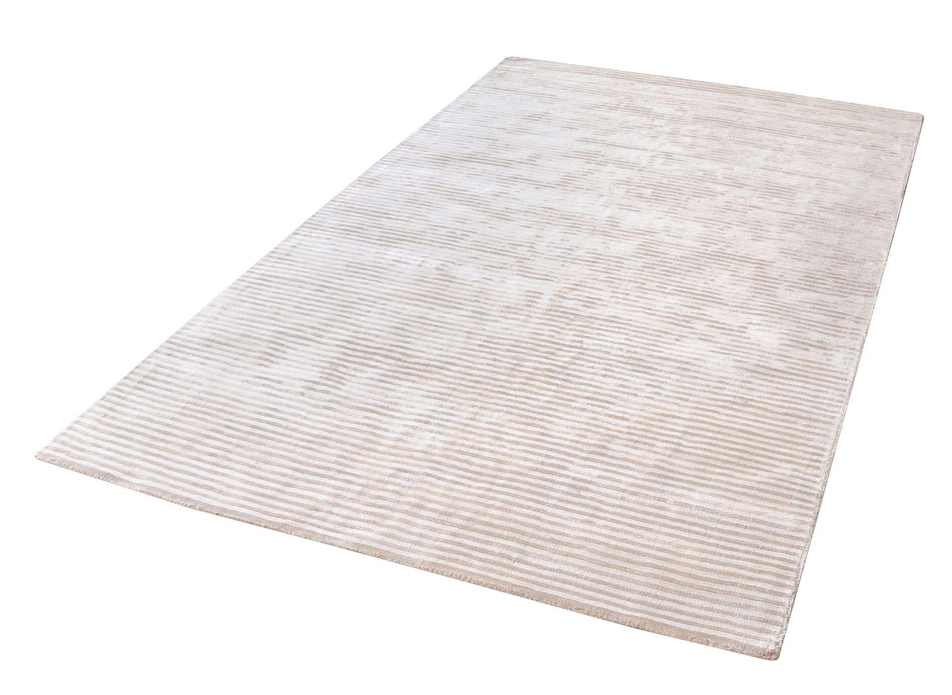 Lulu Hand-Woven Ivory Area Rug Rug Size: Rectangle 8' x 10'