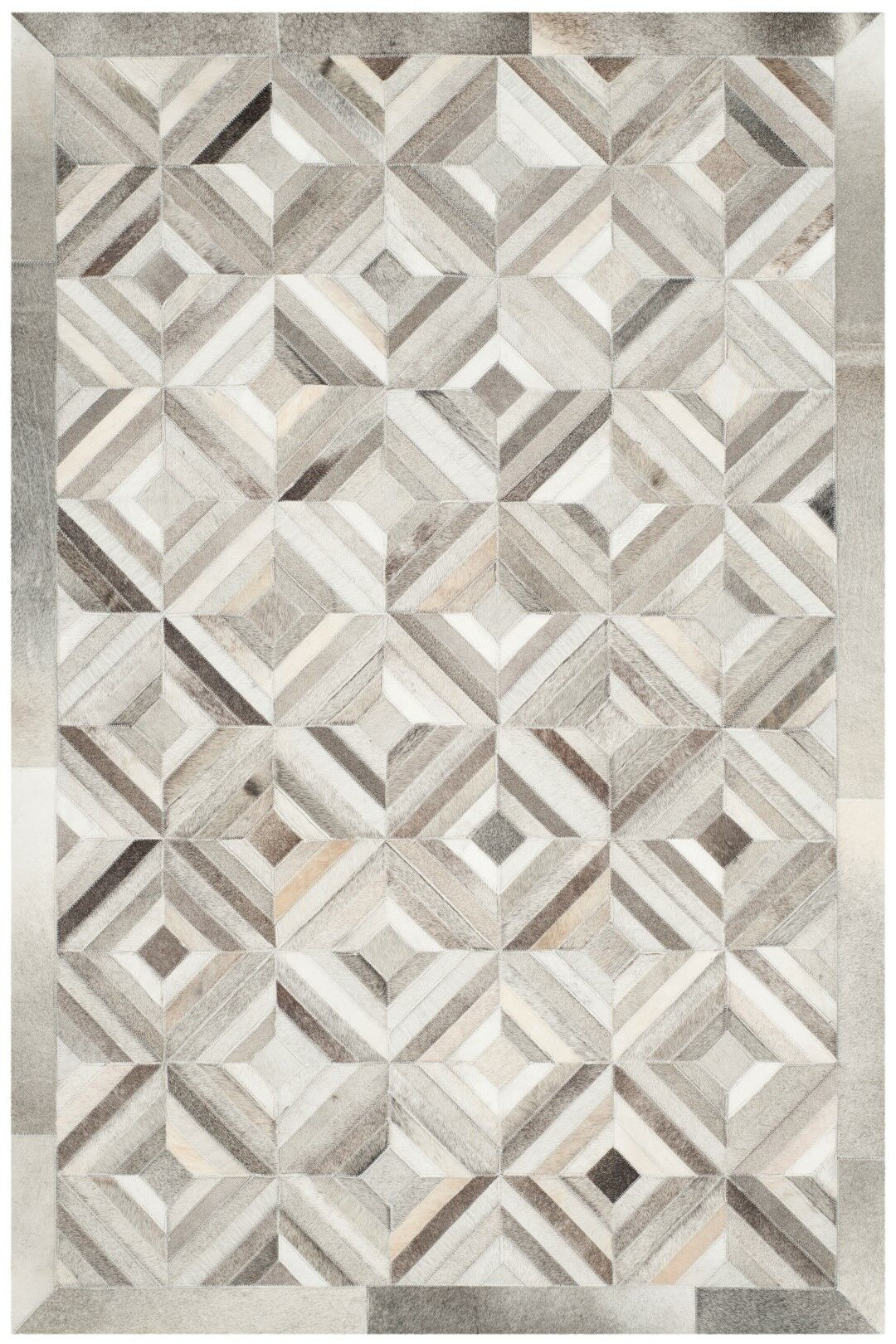 Cartwright Hand-Woven Gray Area Rug Rug Size: Rectangle 3' x 5'