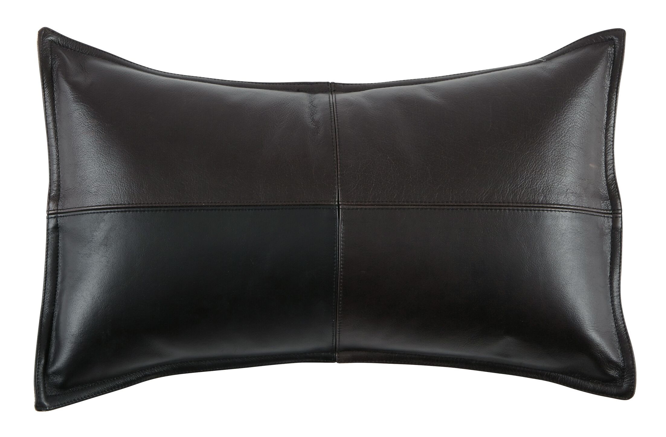 Leanora Lumbar Pillow Color: Black