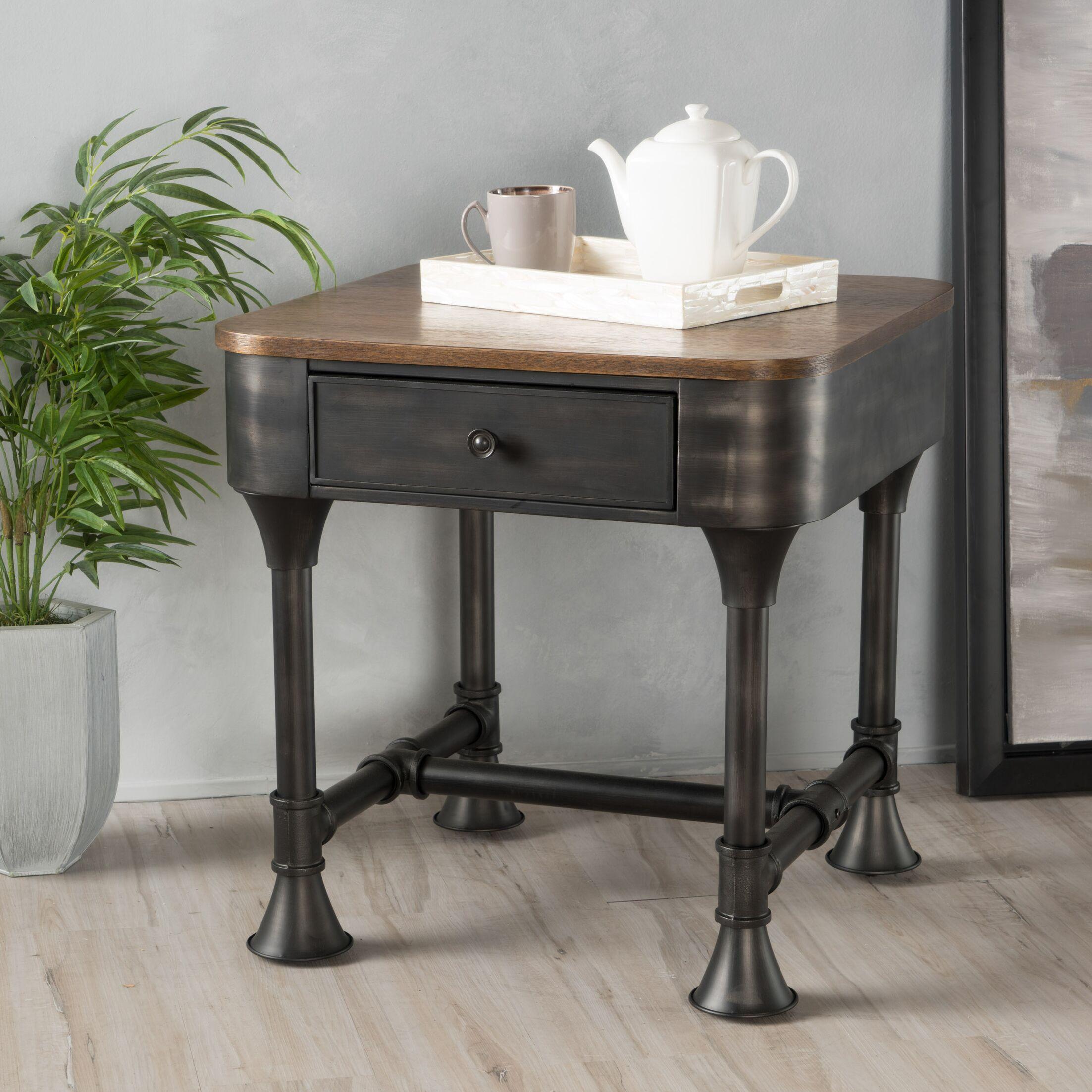 Piestewa Wood End Table