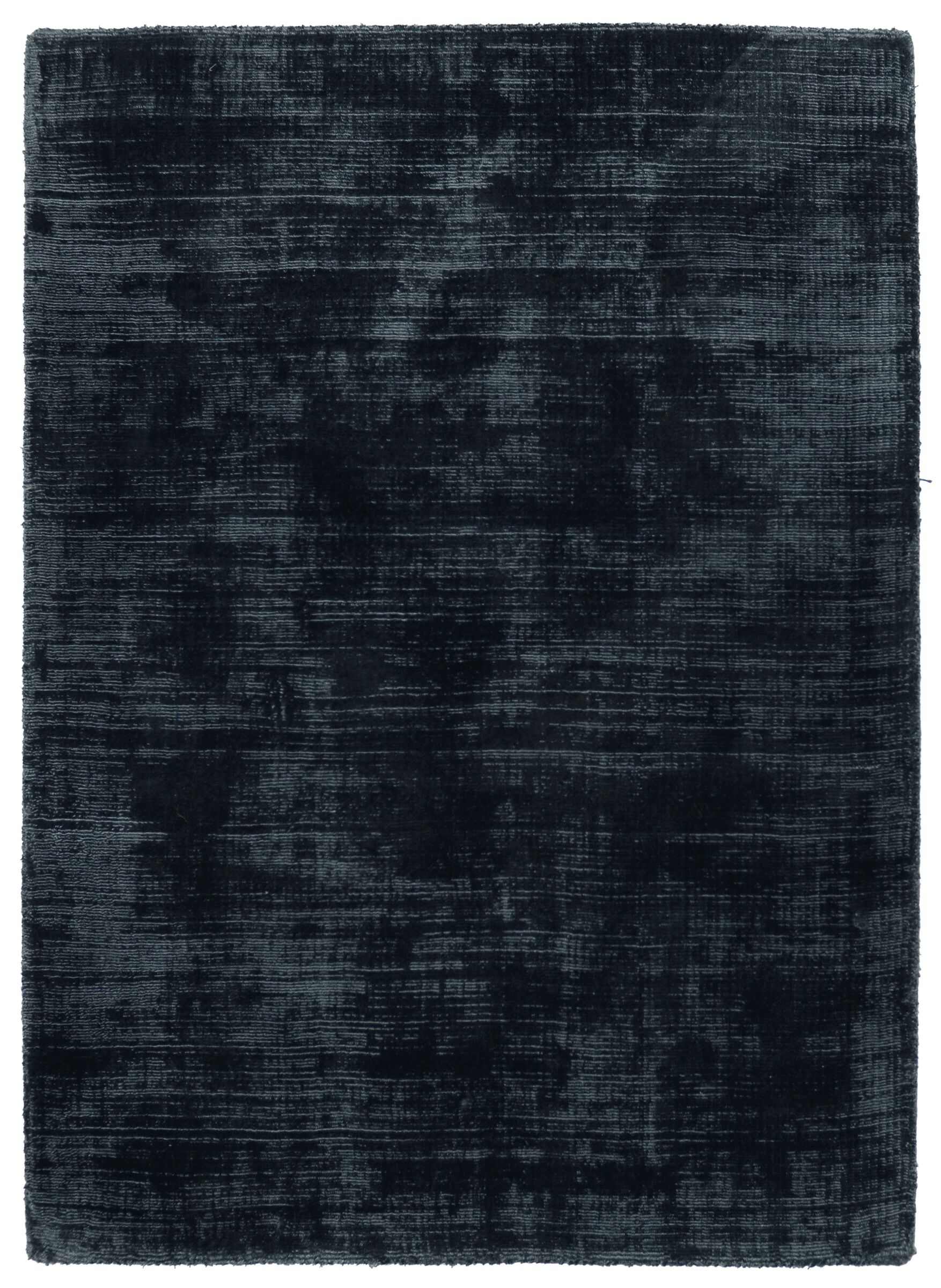 Wrightsville Hand-Woven Ink Blue Area Rug Rug Size: 9' x 12'