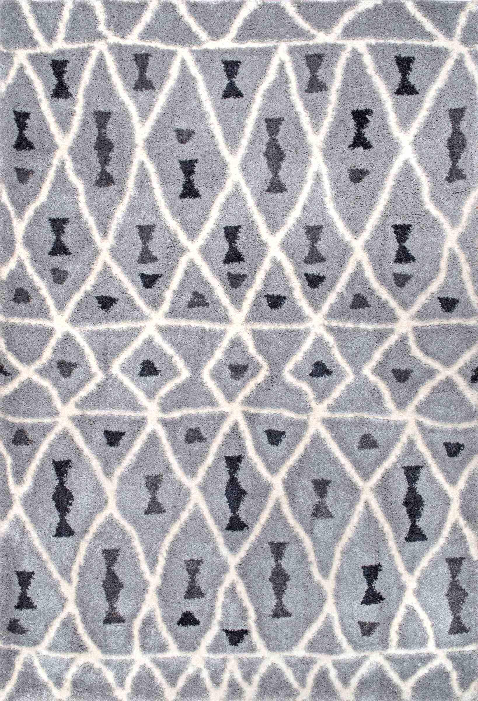 Domingues Gray Area Rug Rug Size: Rectangle 4' x 6'
