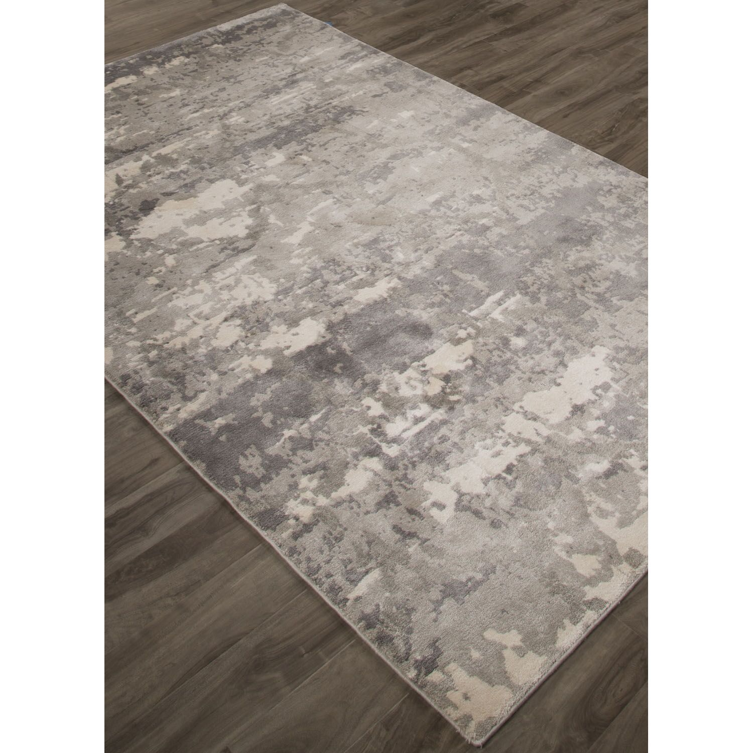 Ali Ivory/Gray Area Rug Rug Size: Rectangle 7'10