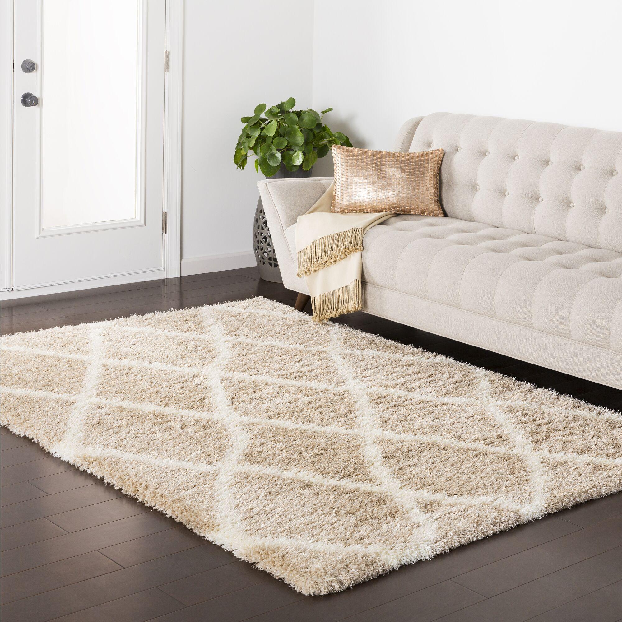 Kolton Brown Indoor Area Rug Rug Size: Rectangle 5'3