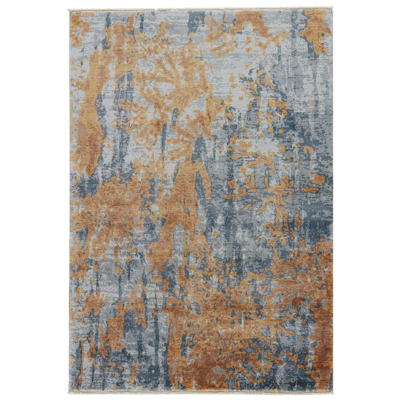 Berenice Harbor Gray/Jadeite Area Rug Rug Size: 5'3