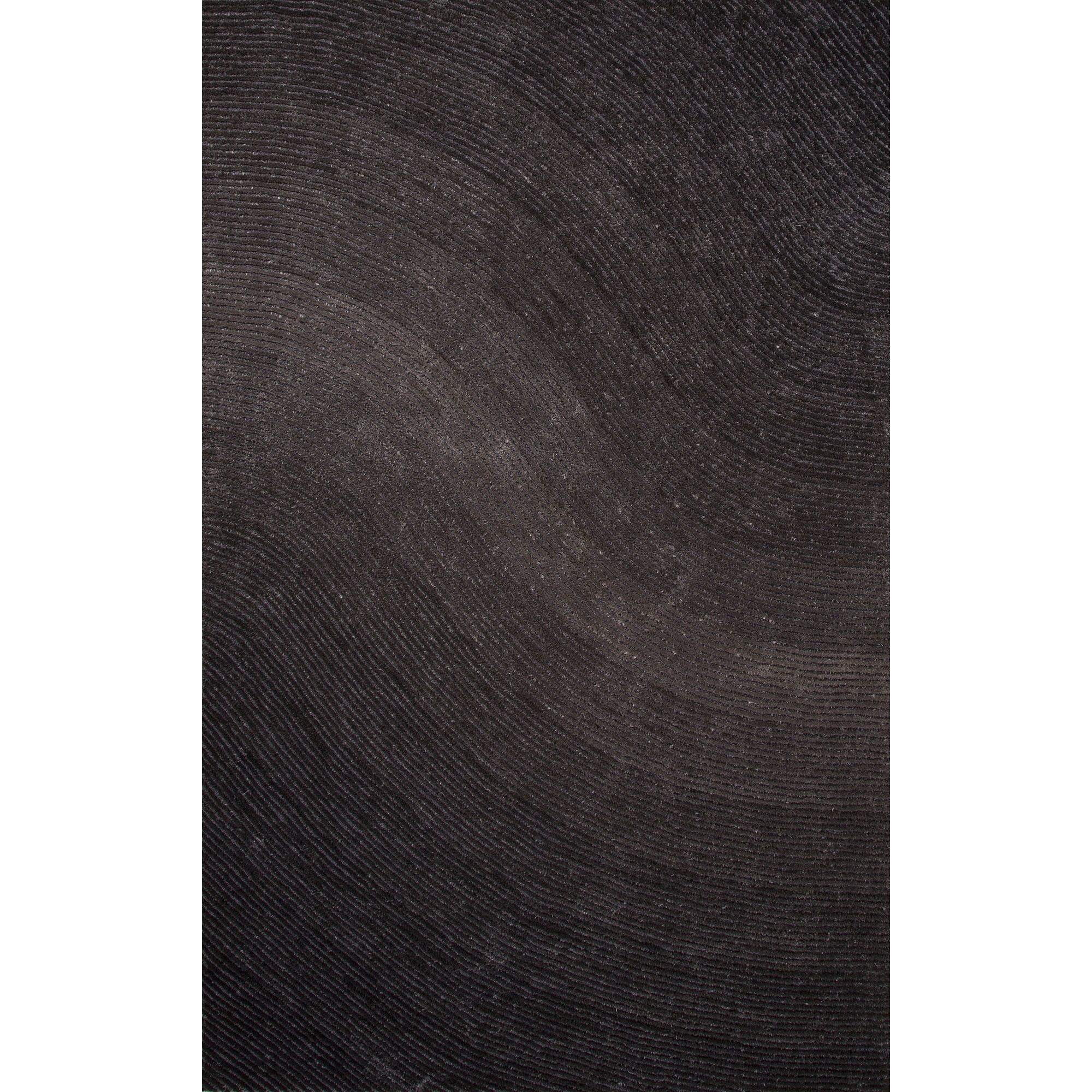 Domenick Polyester Shag Gray Area Rug Rug Size: Rectangle 7'6