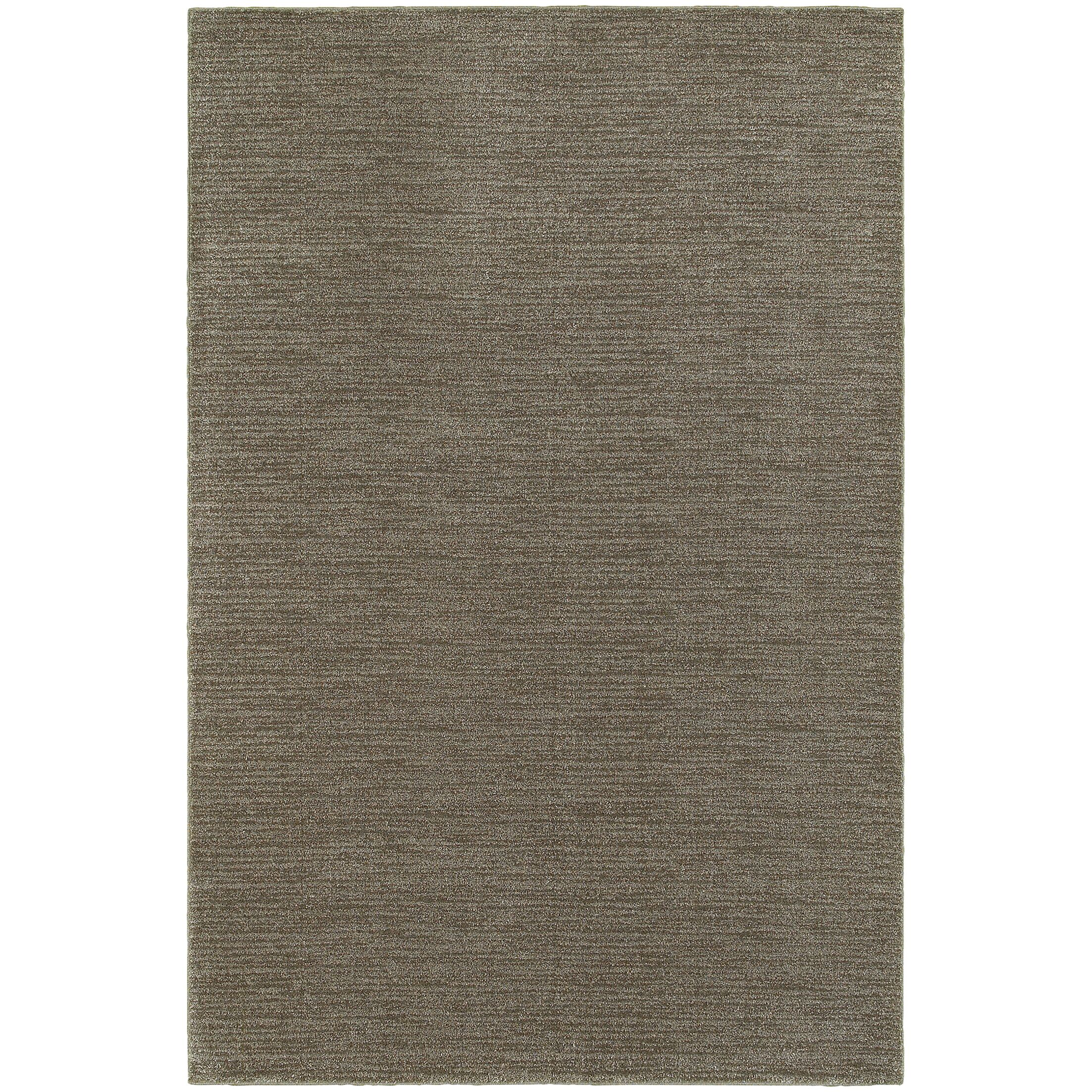 Yadira Gray/Brown Area Rug Rug Size: Rectangle 6'7