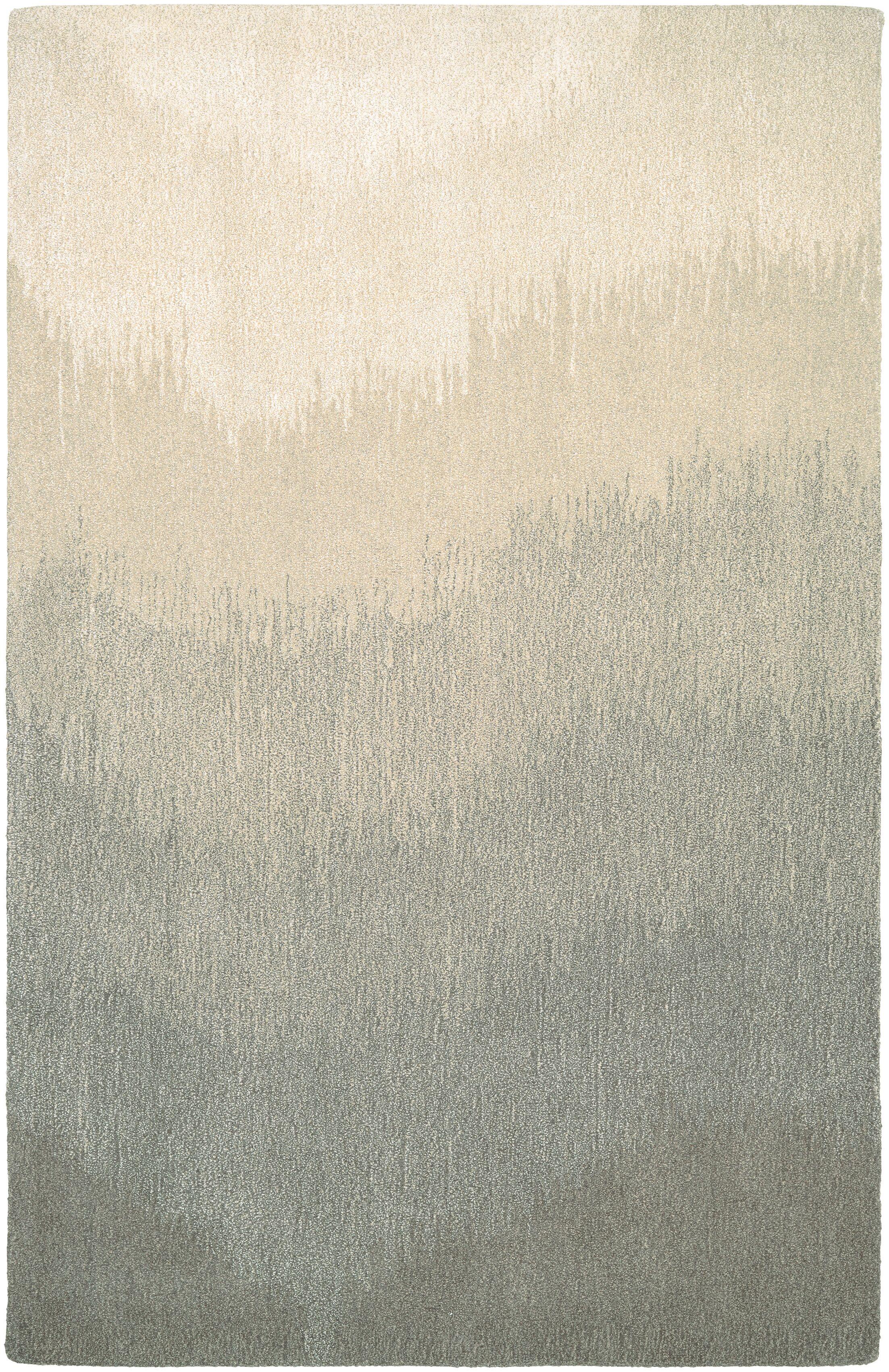 Leandre Hand-Woven Gray/Beige Area Rug Rug Size: Runner 2'2