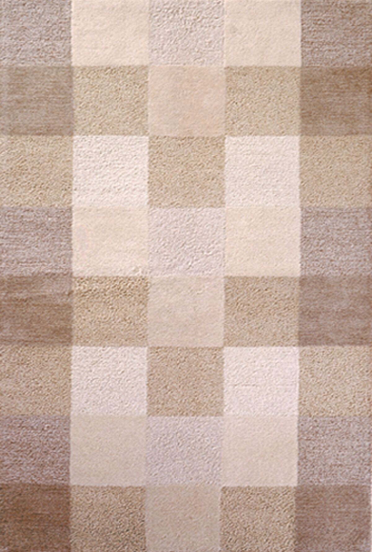 Bevill Ivory Checkerboard Area Rug Rug Size: 8' x 10'6
