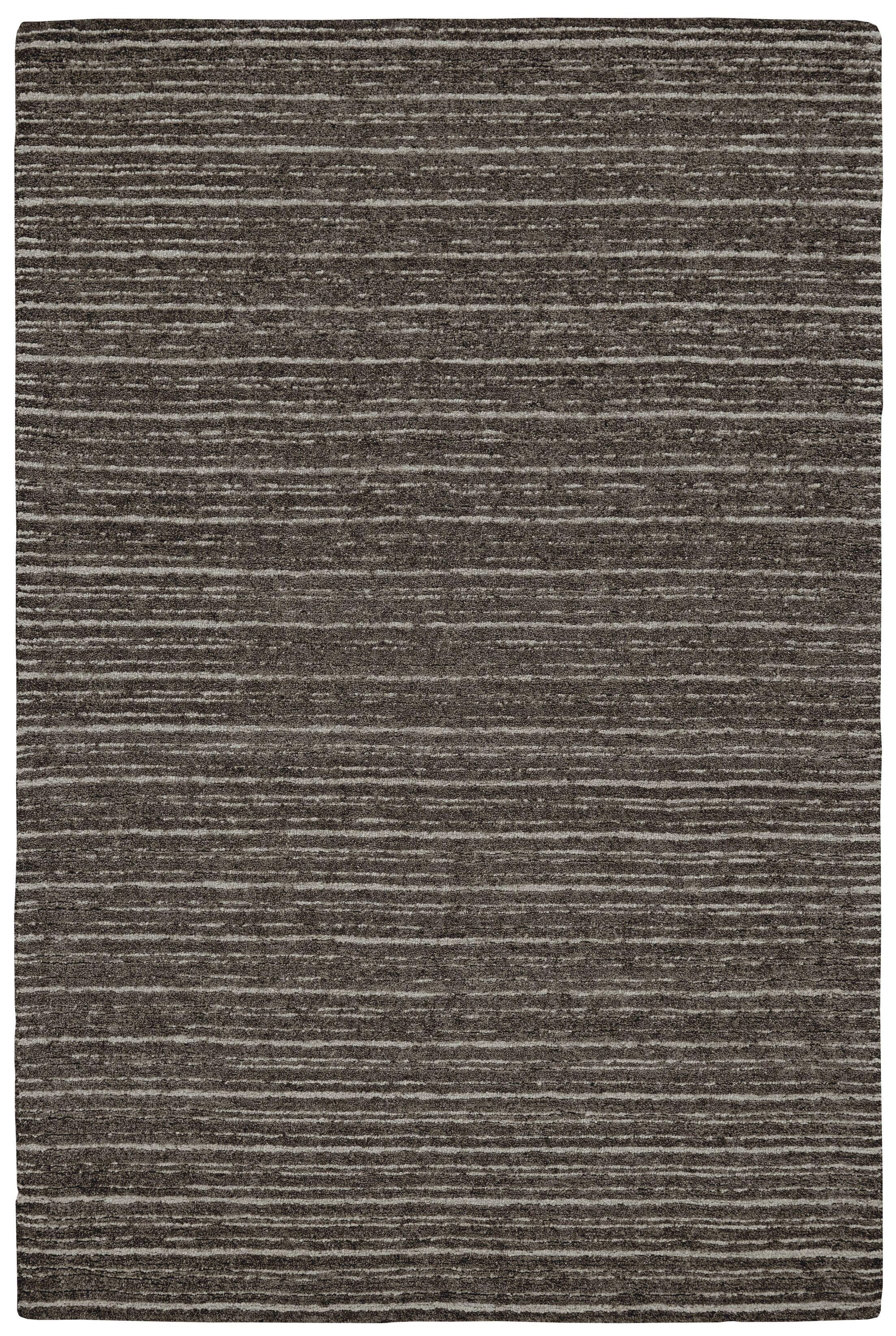 Glenn Hand-Tufted Brown/Gray Area Rug Rug Size: Rectangle 5' x 8'