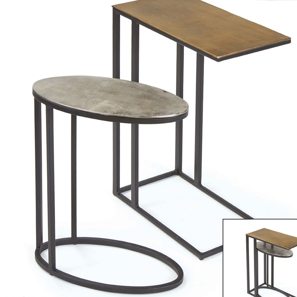 Didama 2 Piece End Table Set