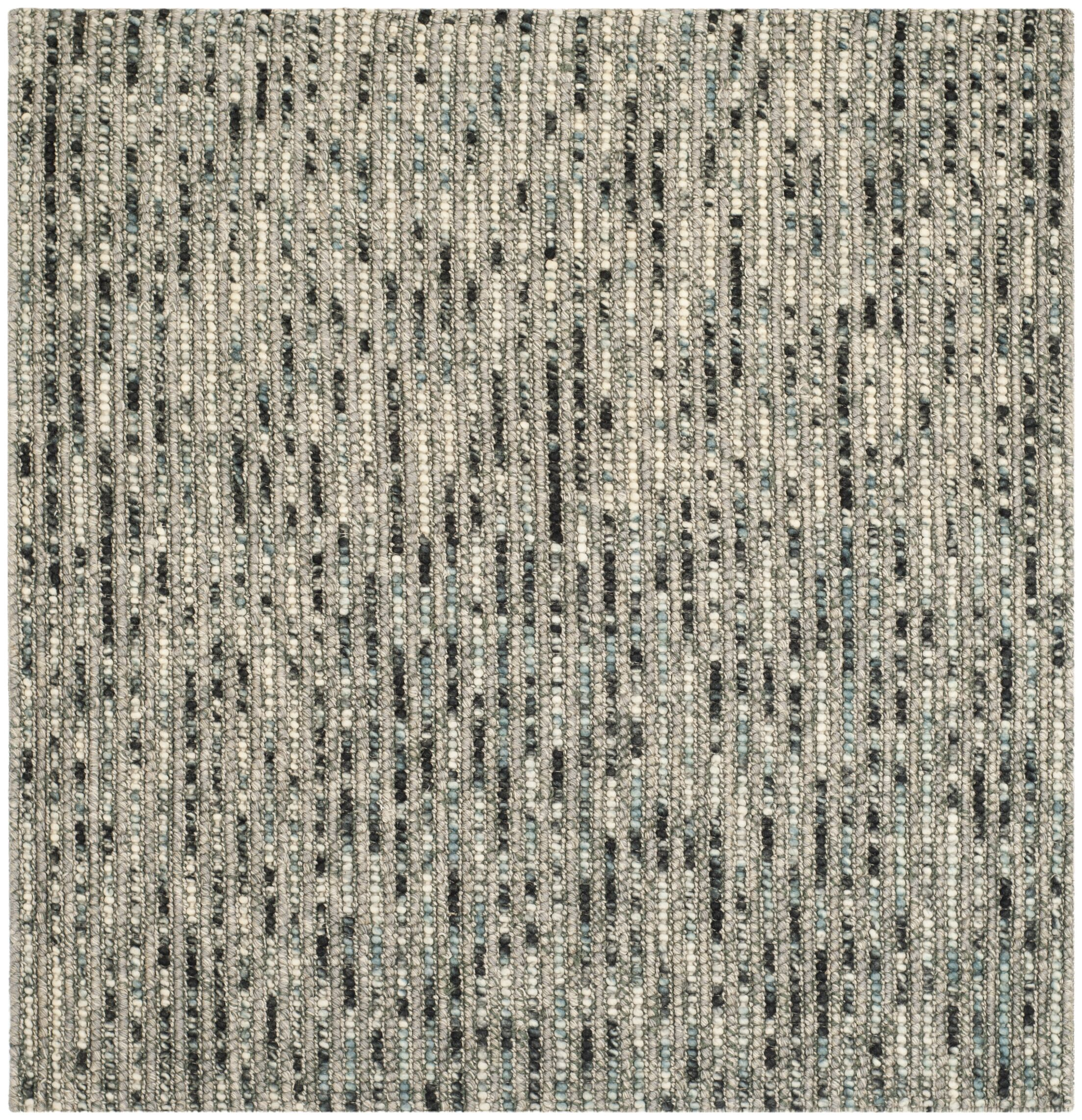 Silvia Hand-Wovn Natural Area Rug Rug Size: Square 10'