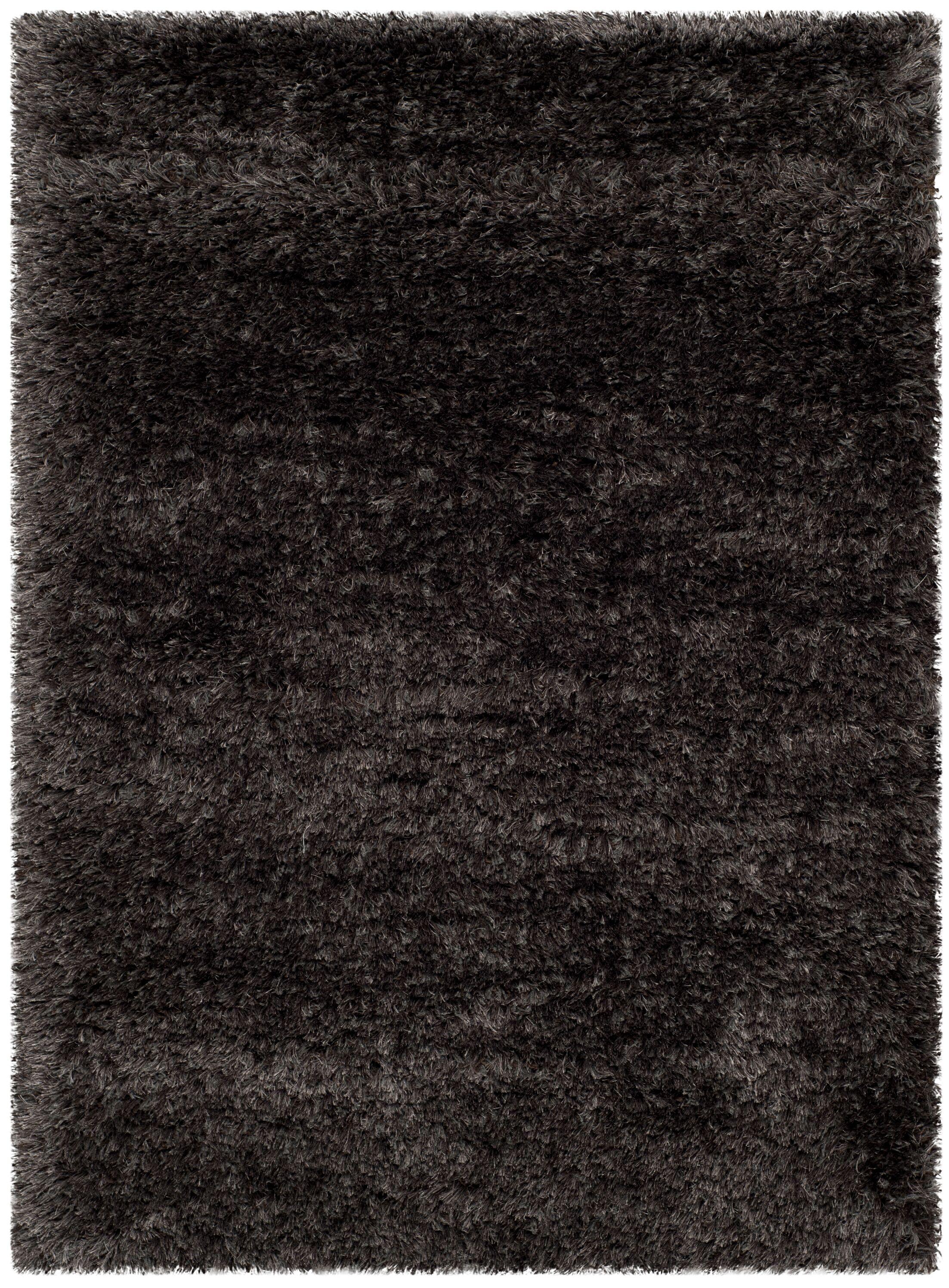 Adaline Black Area Rug Rug Size: Rectangle 2'7
