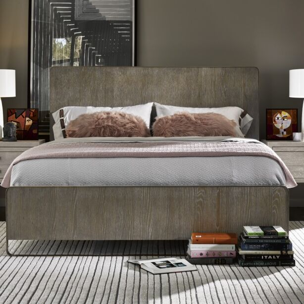 Naomi Panel Bed Size: King