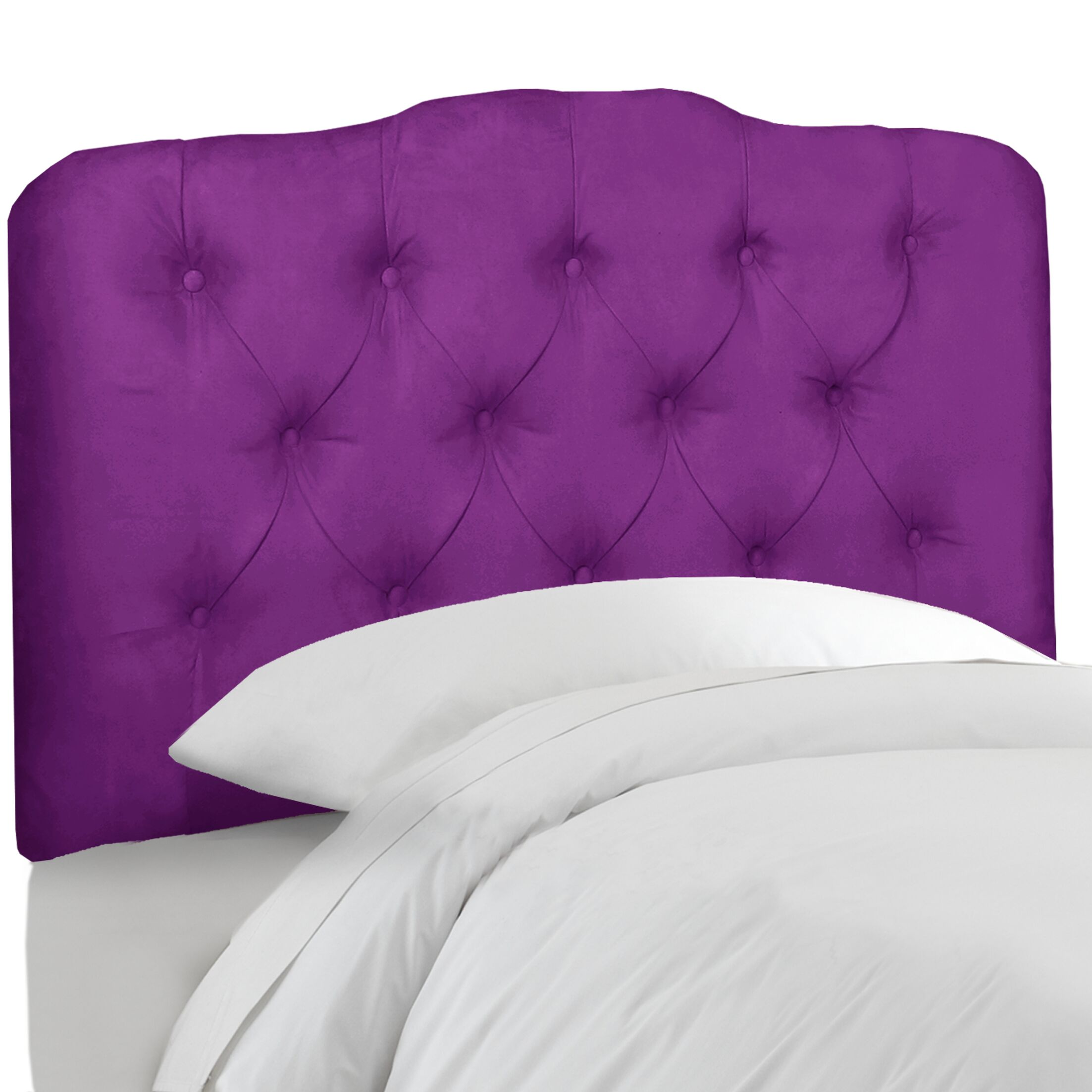 Roselare Tufted Upholstered Panel Headboard Size: Twin, Upholstery: Charcoal