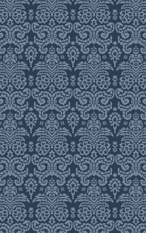 Batley Hand Woven Blue Area Rug Rug Size: Rectangle 8' x 10'