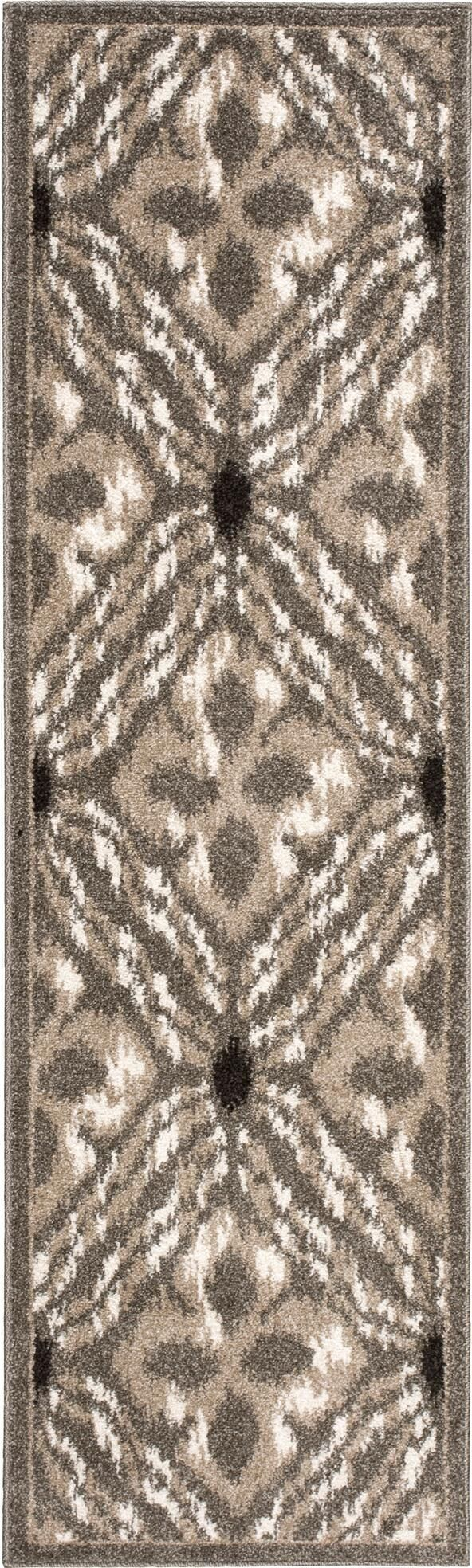 Horsham Brown Area Rug Rug Size: Runner 2'2