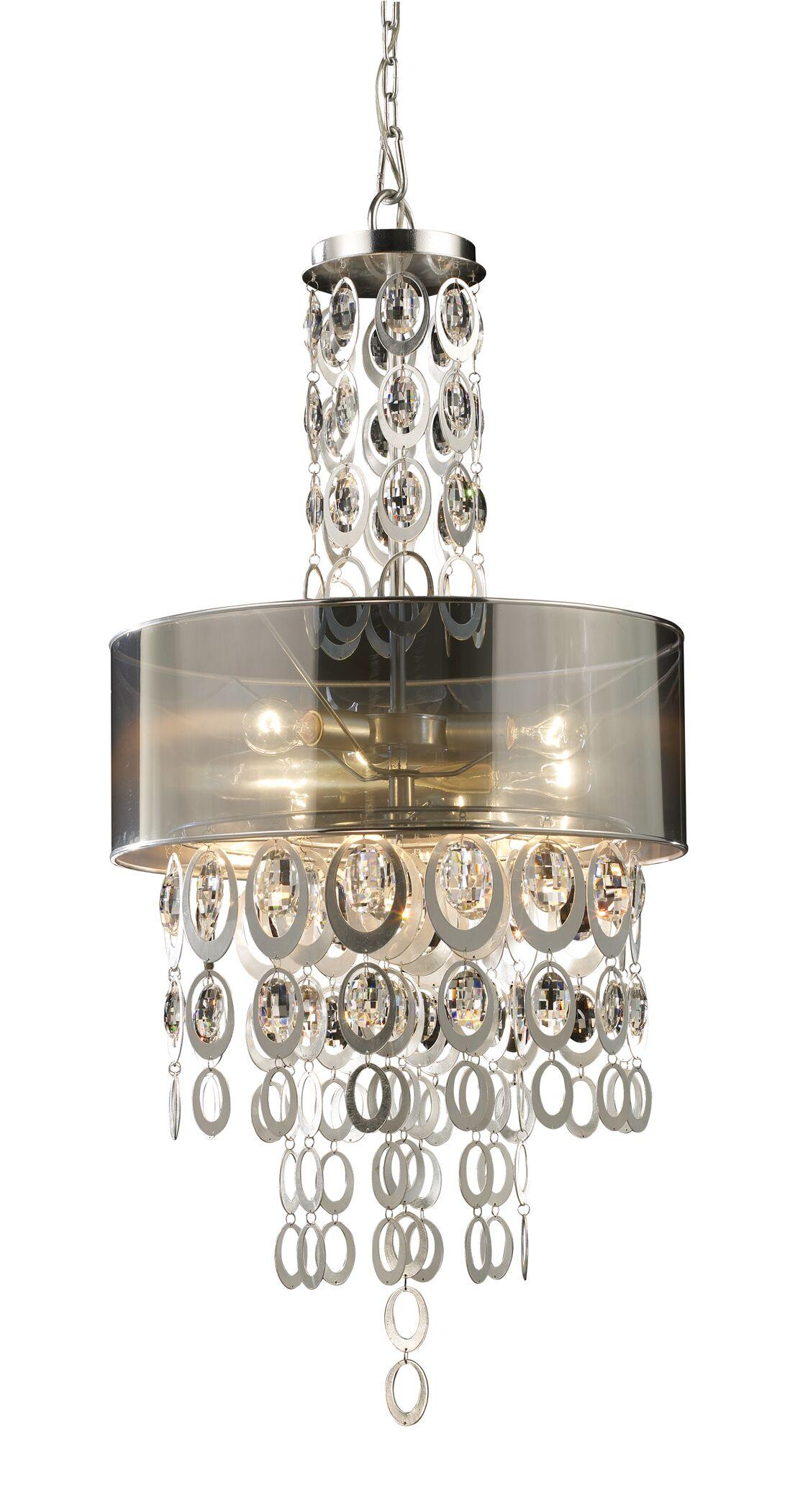 Hiser 3-Light Pendant