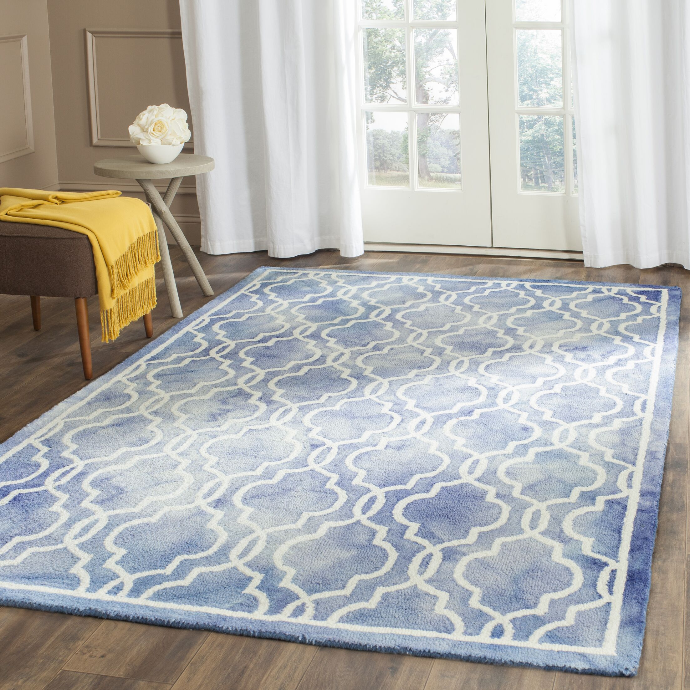 Arlene Hand-Tufted Area Rug Rug Size: Rectangle 6' x 9'