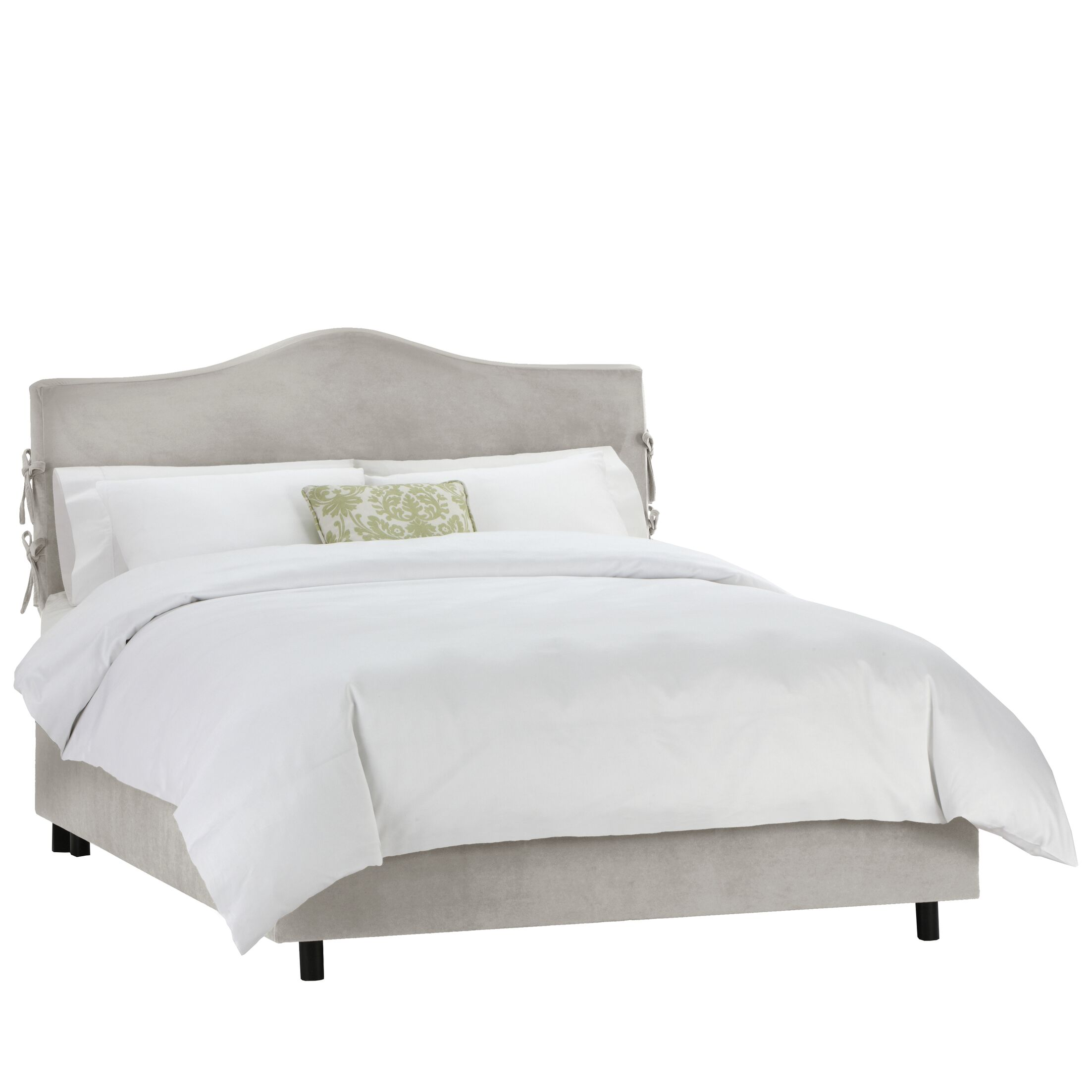 Tatum Upholstered Panel Bed Size: Queen, Color: Mystere Moccasin
