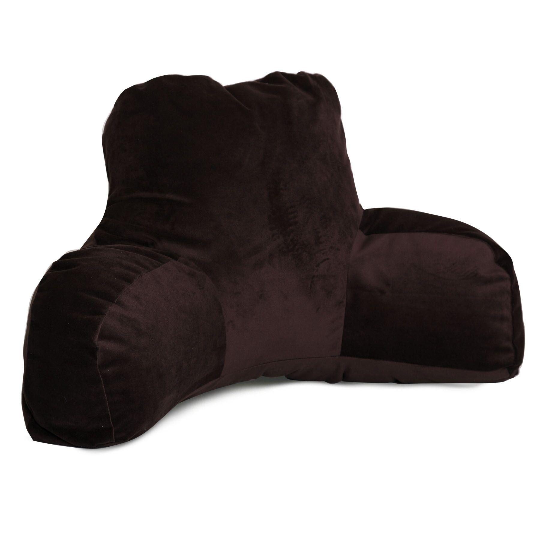 Bramma Reading Bed Rest Pillow Color: Dark Brown