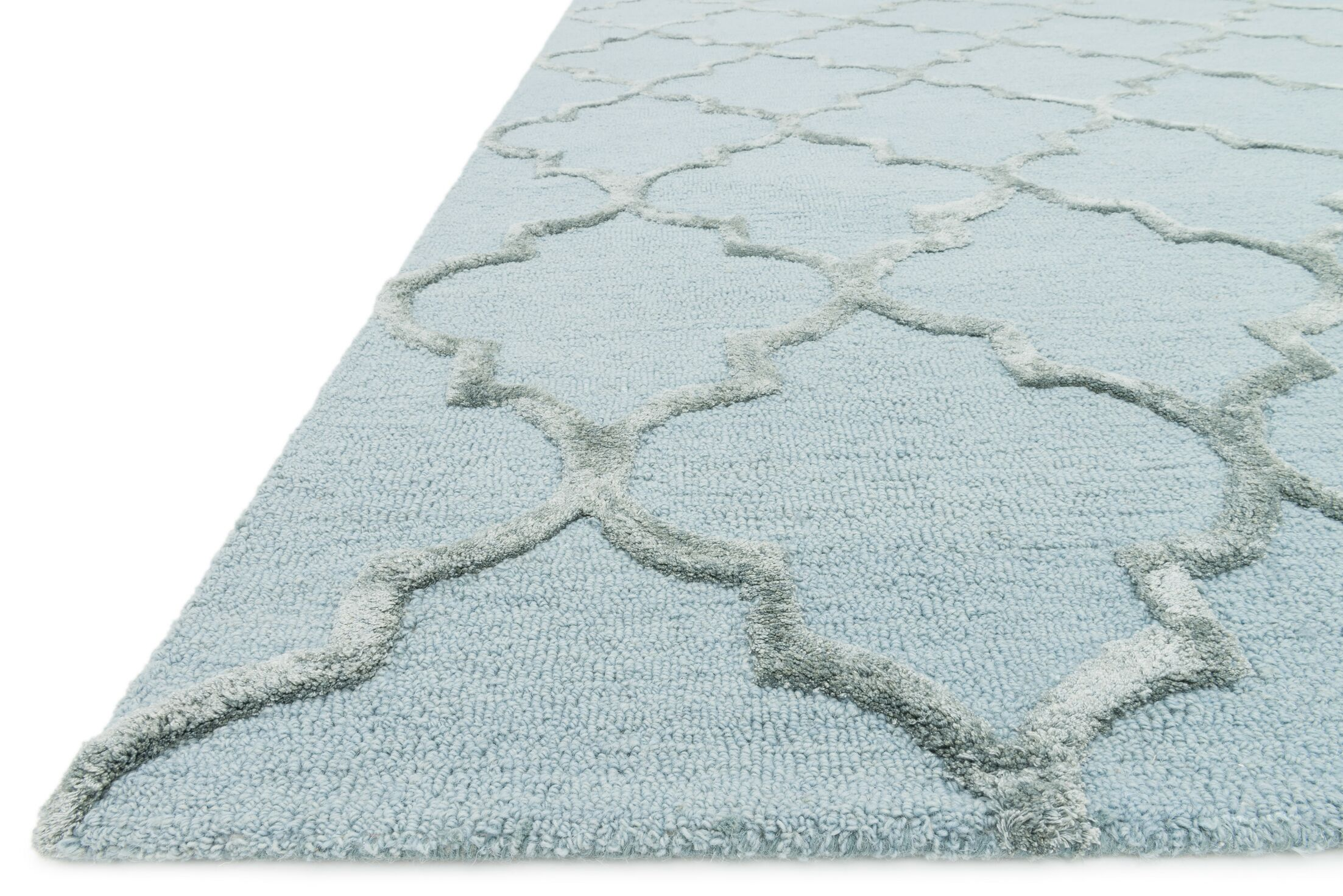 Ruddell Mist Area Rug Rug Size: Rectangle 5' x 7'6