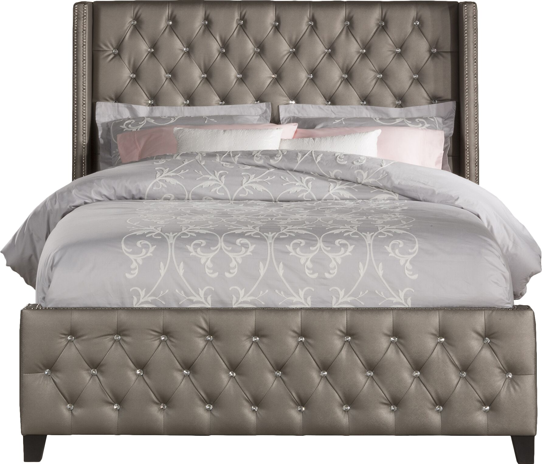 Ripley Upholstered Panel Bed Size: King