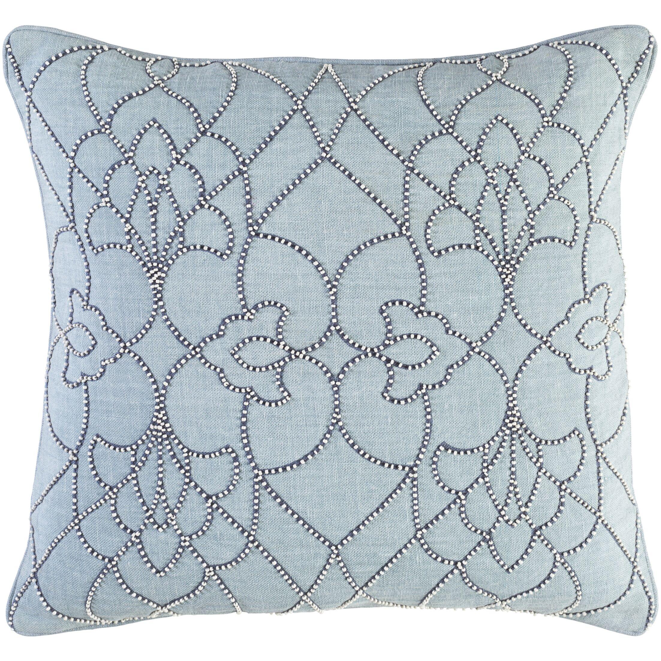 Highworth Linen Throw Pillow Size: 18