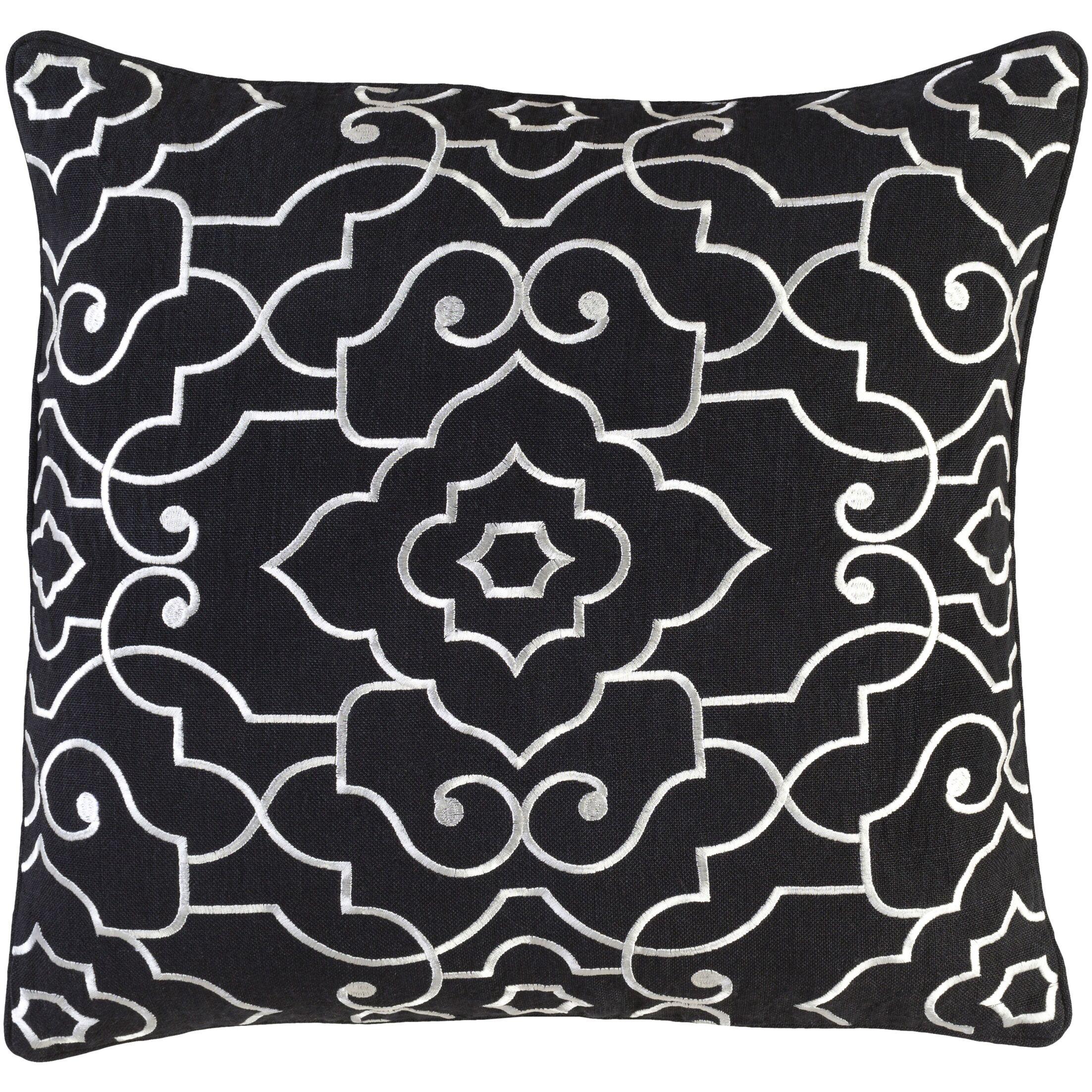 Oldbury Linen Throw Pillow Size: 22