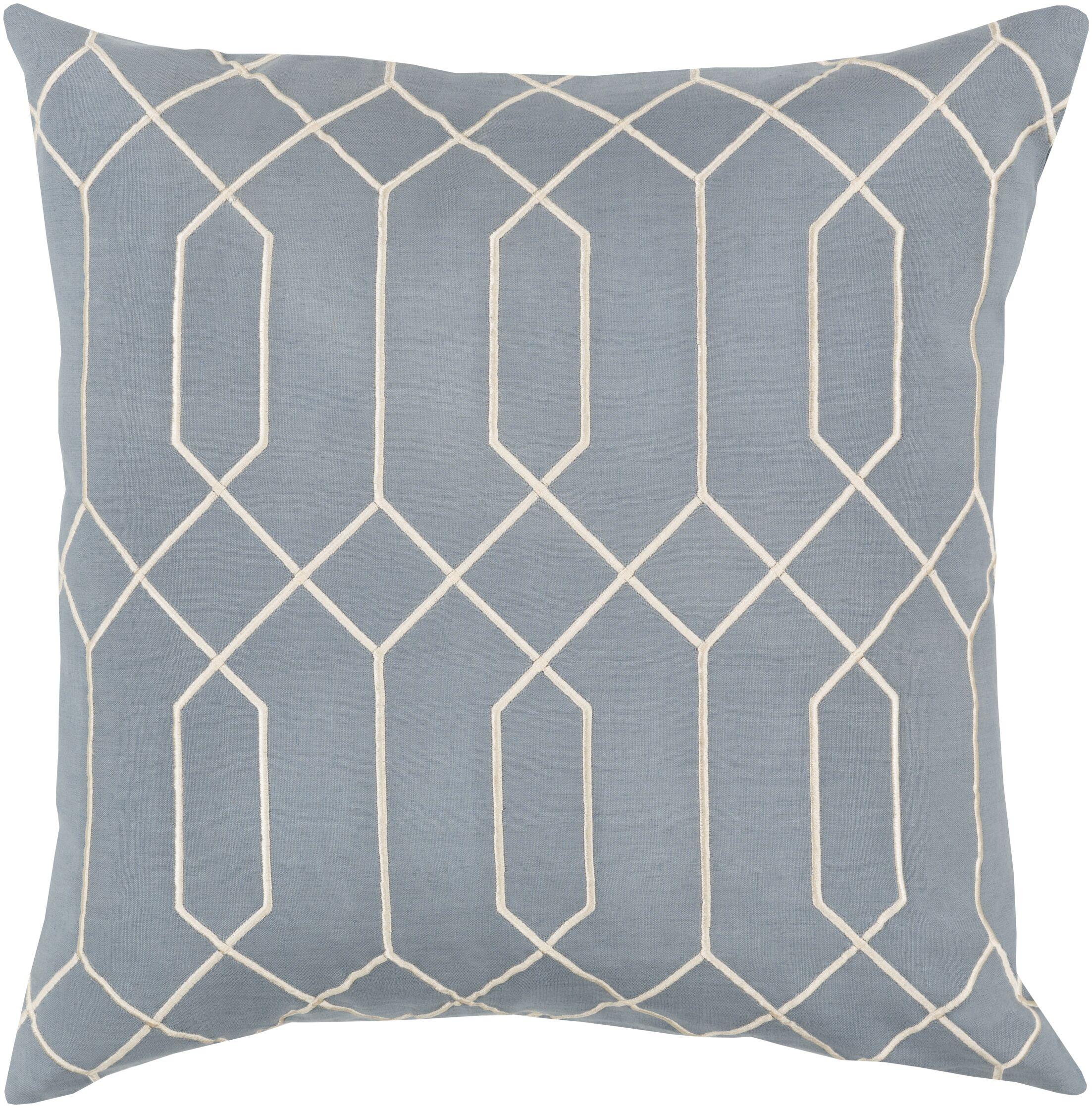 Kaivhon Linen Throw Pillow Size: 18