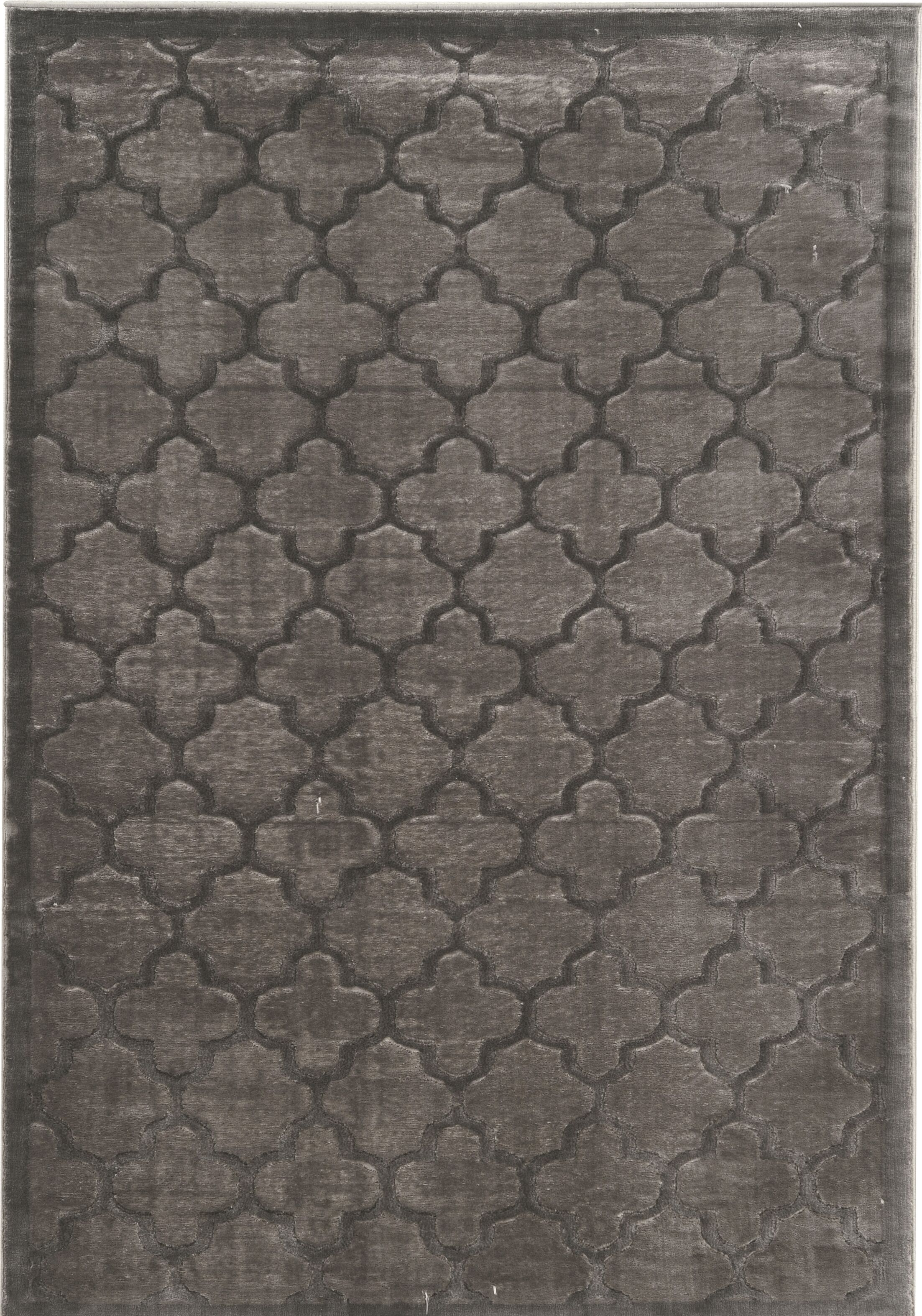 Belper Gray Area Rug Rug Size: Rectangle 8' x 11'