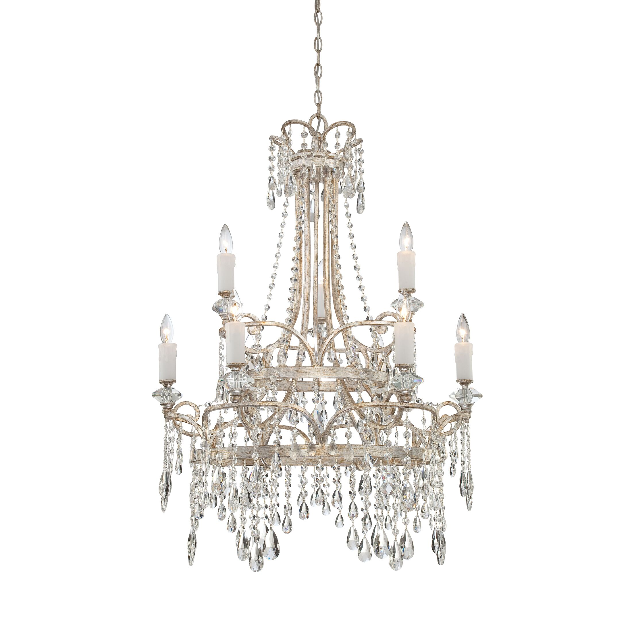 Spade 9-Light Candle Style Chandelier