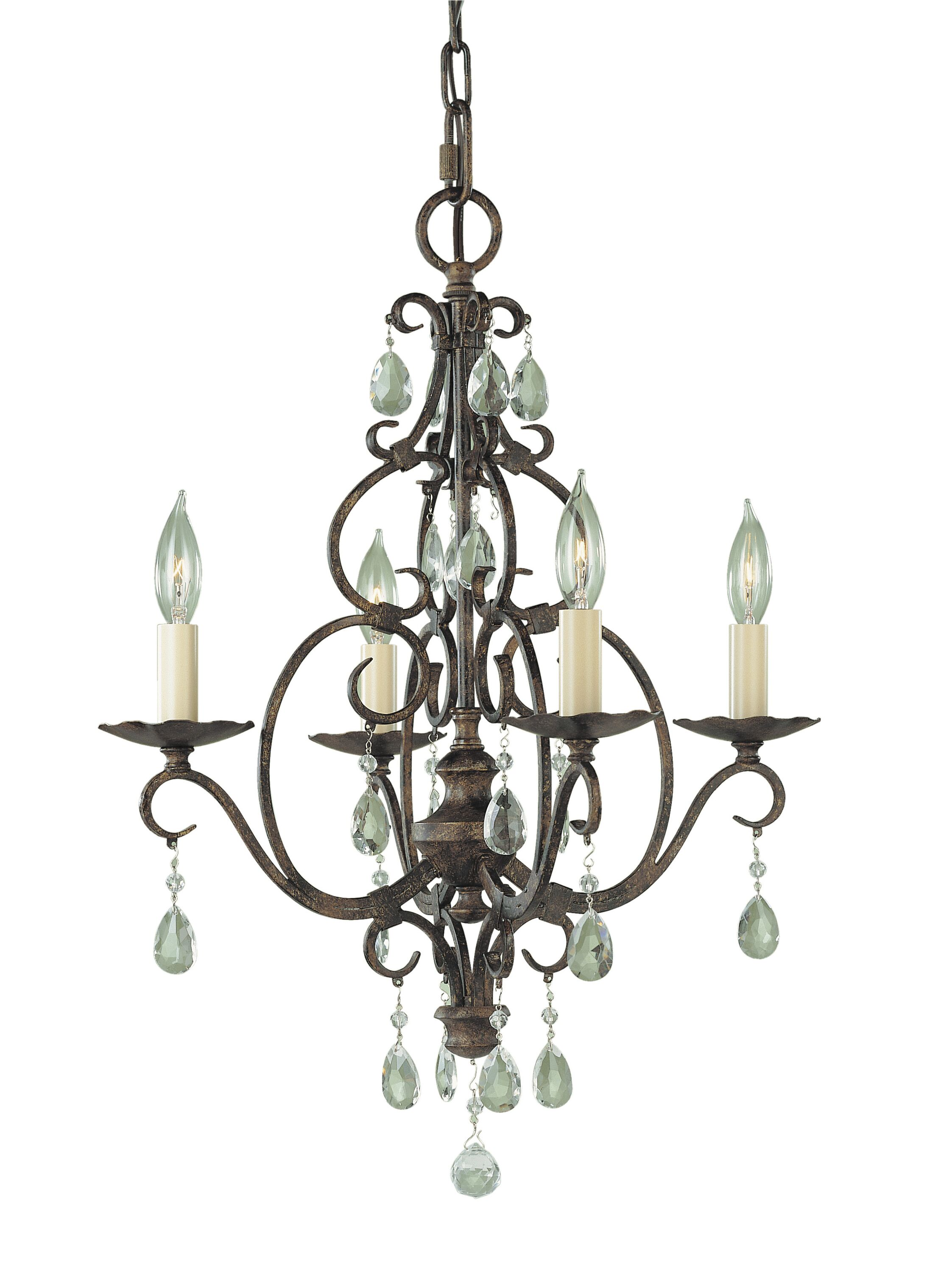 Esse 4-Light Candle Style Chandelier