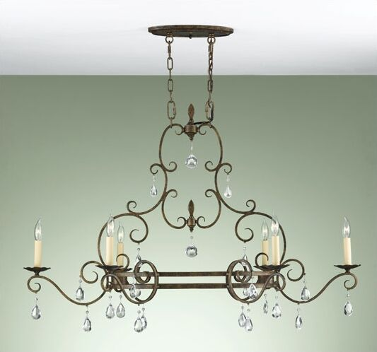 Herkimer 6-Light Candle-Style Chandelier