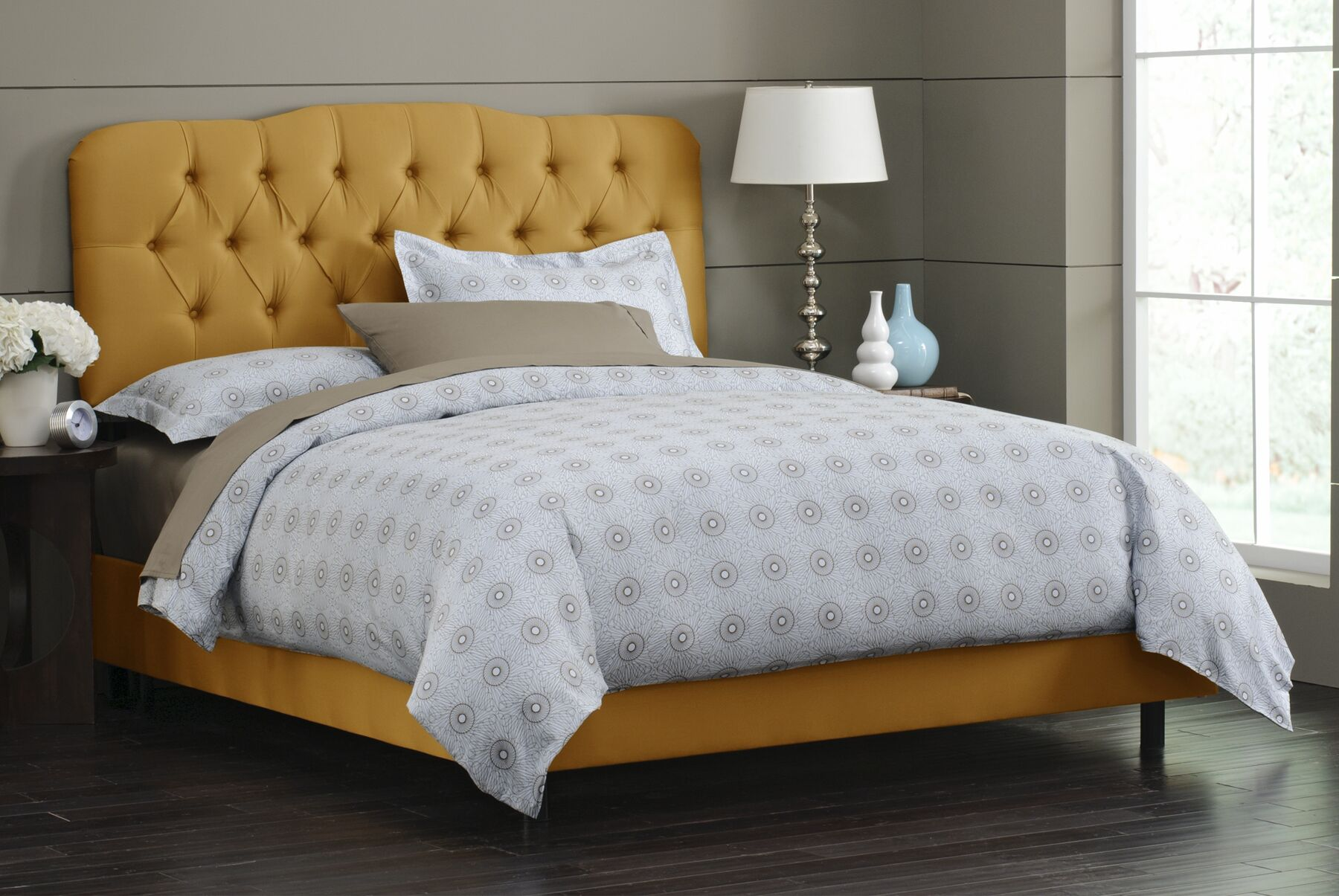 Redmont Upholstered Panel Bed