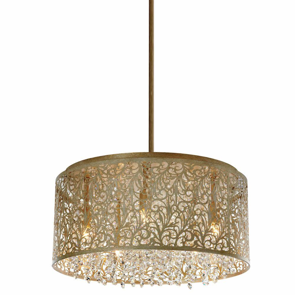 Fauna 8-Light Chandelier Finish: Palladium Gold
