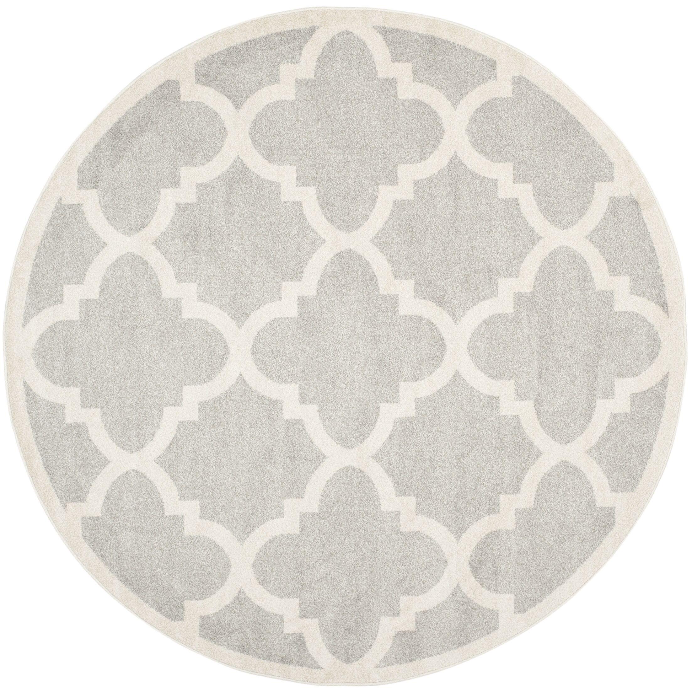 Maritza Light Grey & Beige Area Rug Rug Size: Rectangle 10' x 14'