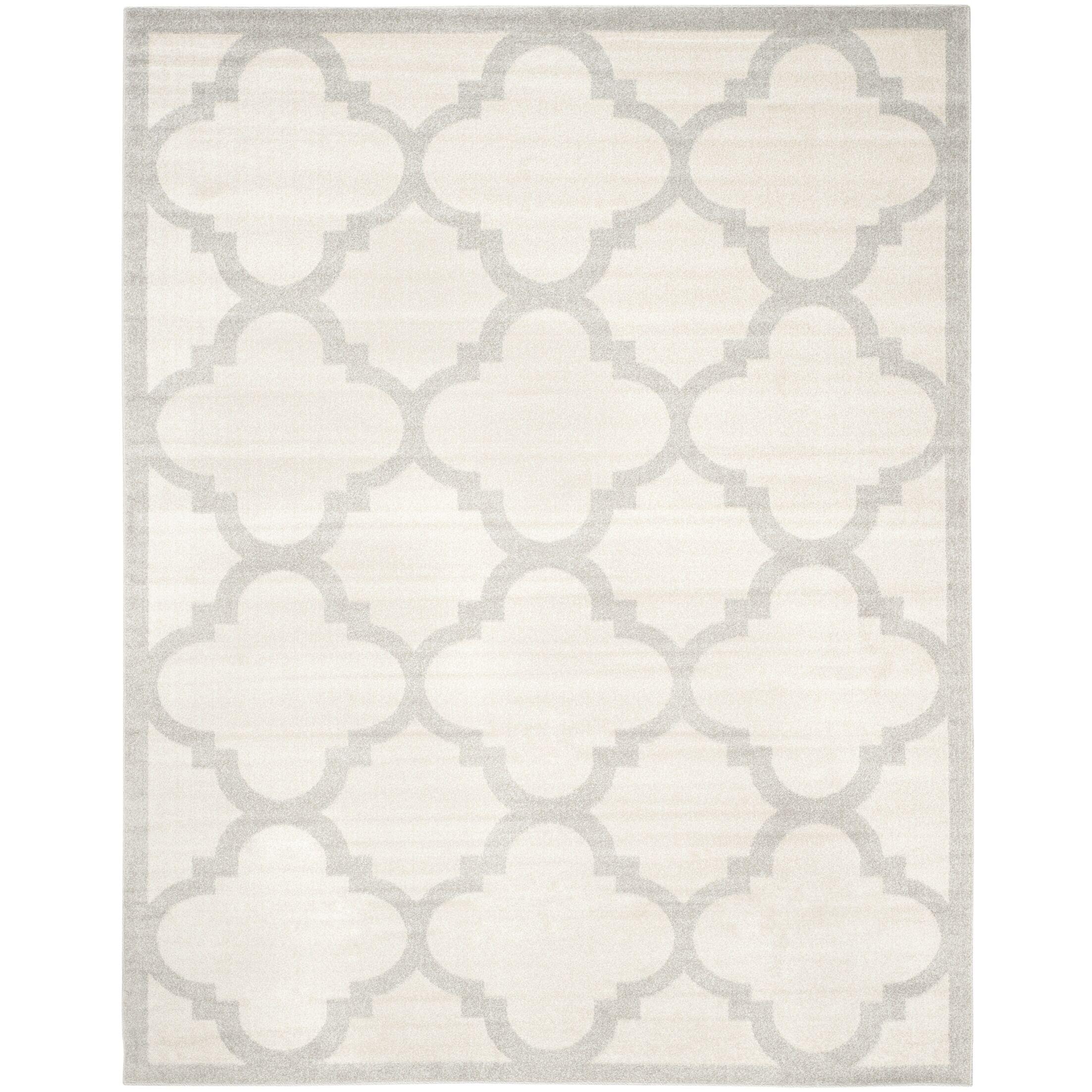 Maritza Beige & Light Gray Indoor/Outdoor Area Rug Rug Size: Rectangle 9' x 12'
