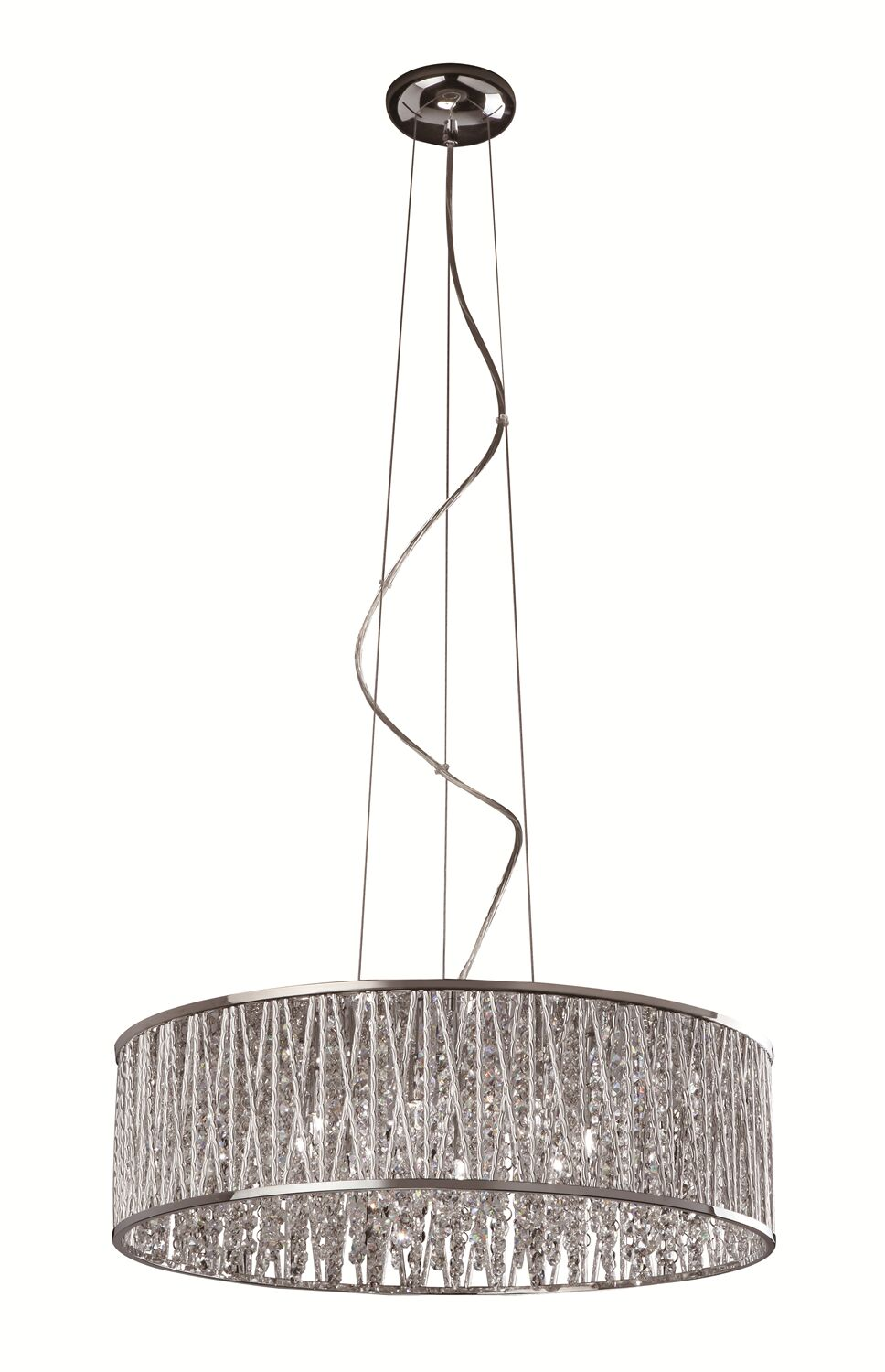 Trixie 8-Light Crystal Chandelier