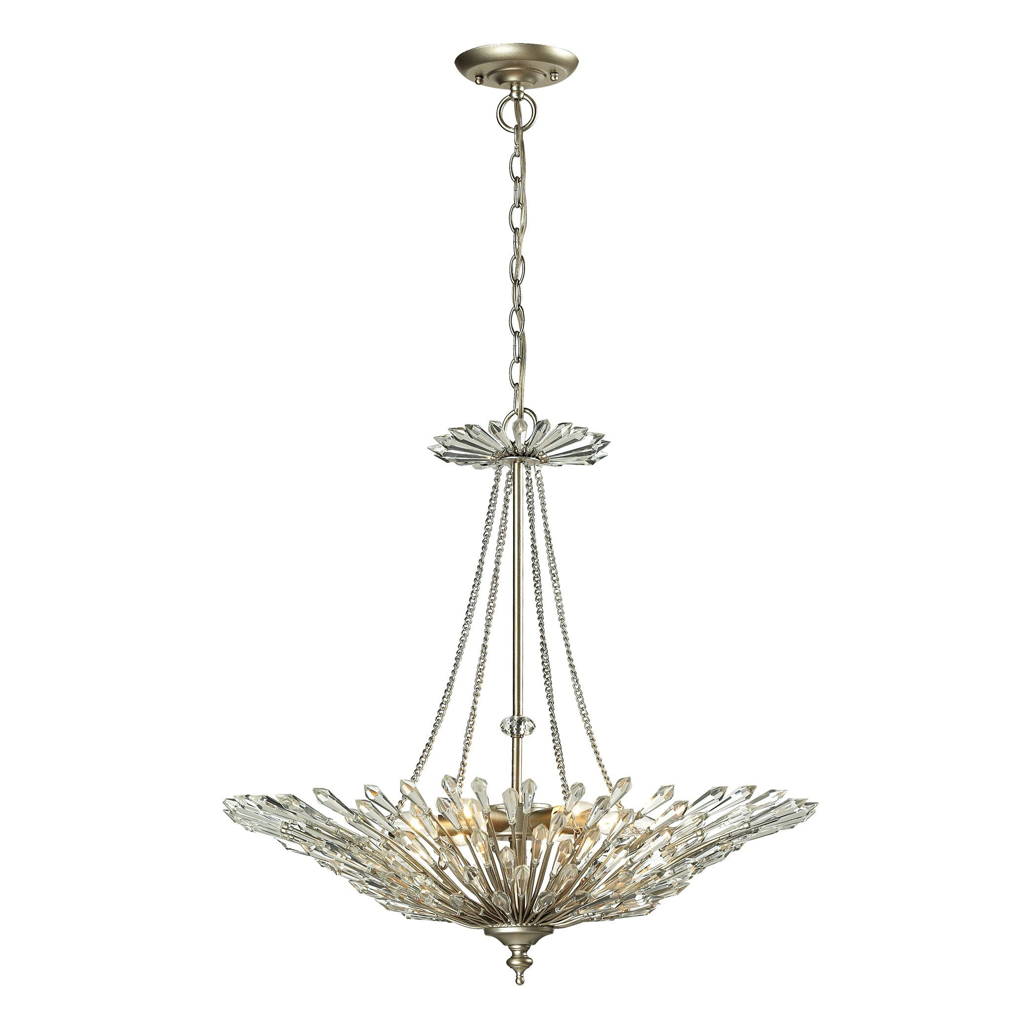 Durrant 6-Light Crystal Chandelier