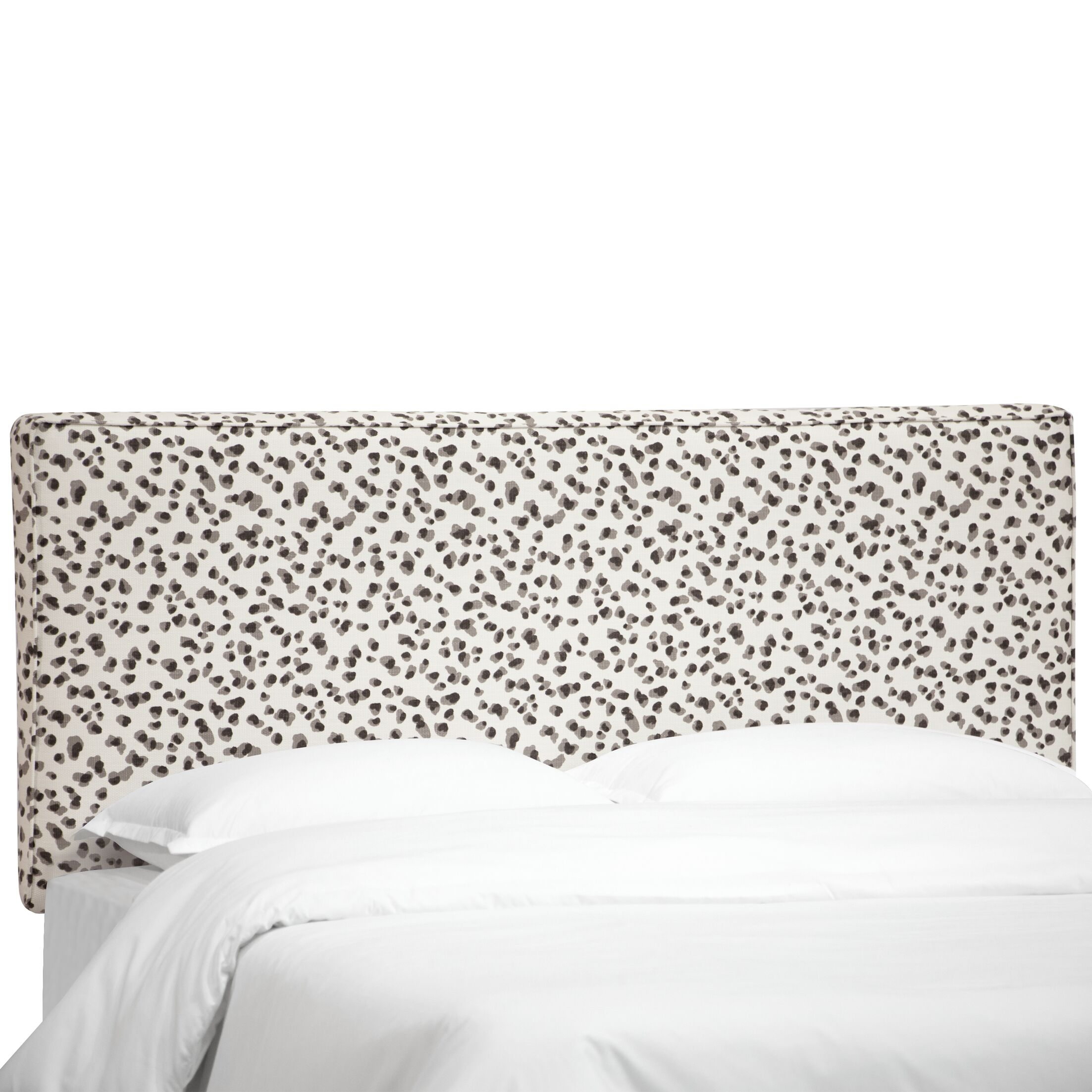 Brett Upholstered Classic Panel Headboard Size: King